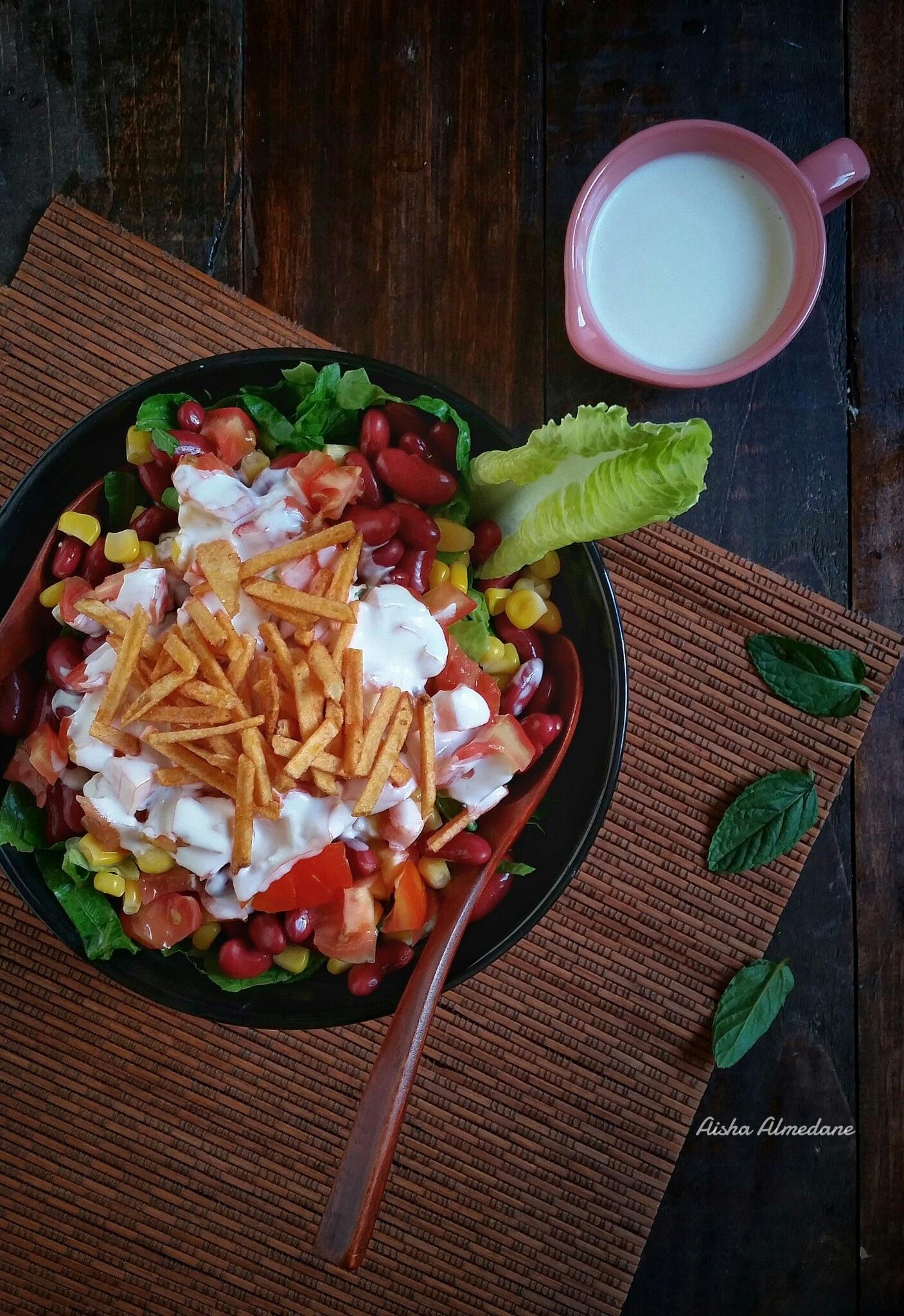 salad by Aisha Almedane