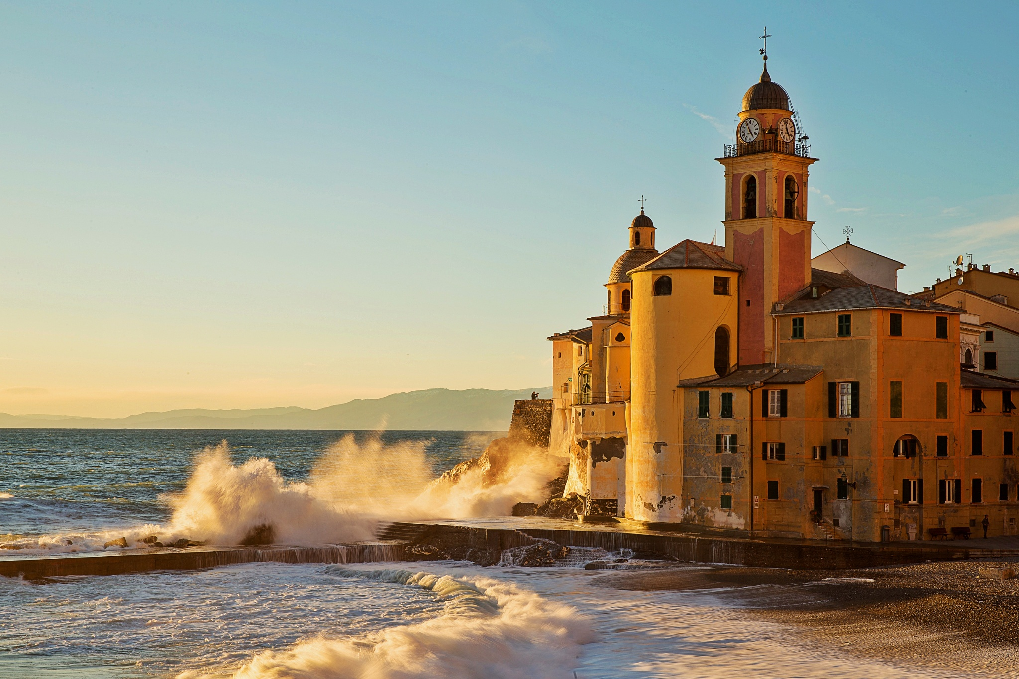 The power of the Sea by Carlo Allievi