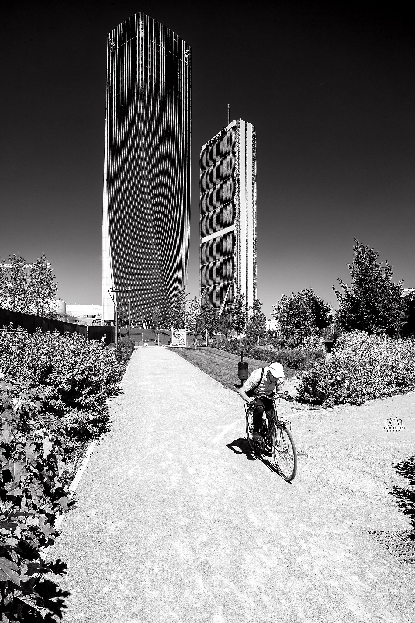 Escape from the City by Carlo Allievi