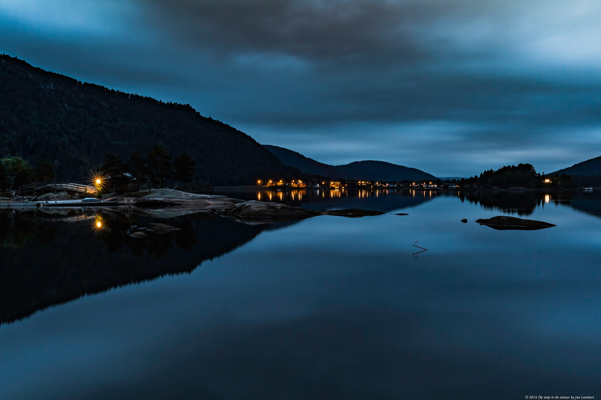 Blue hour by JanLambert