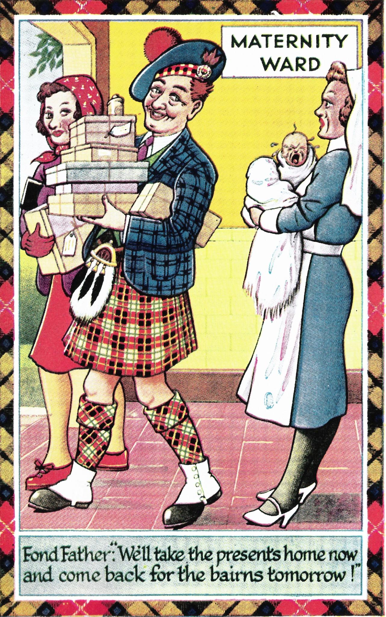 Vintage Scottish Joke 3 by Lars-Toralf Utnes Storstrand