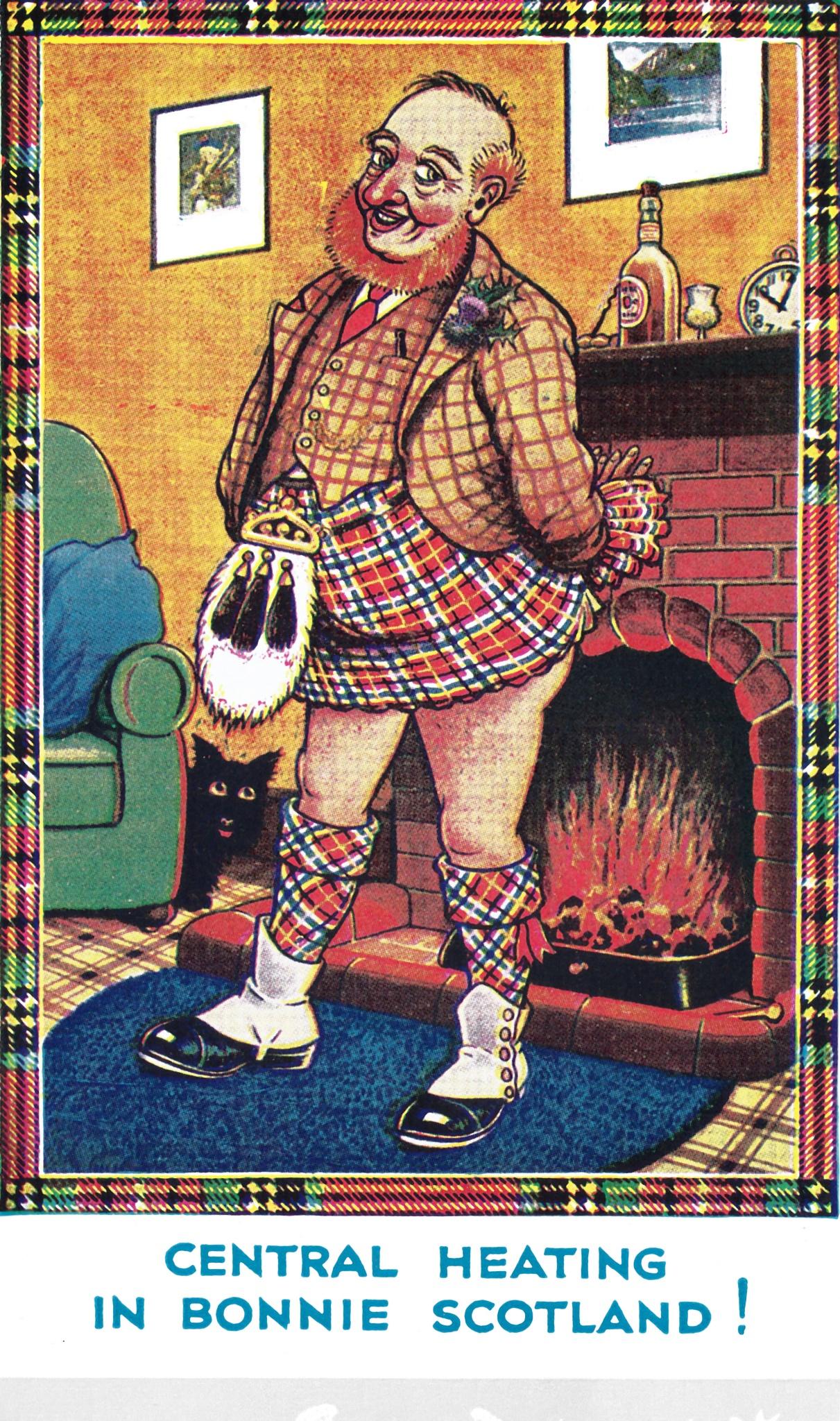 Vintage Scottish Joke 7 by Lars-Toralf Utnes Storstrand