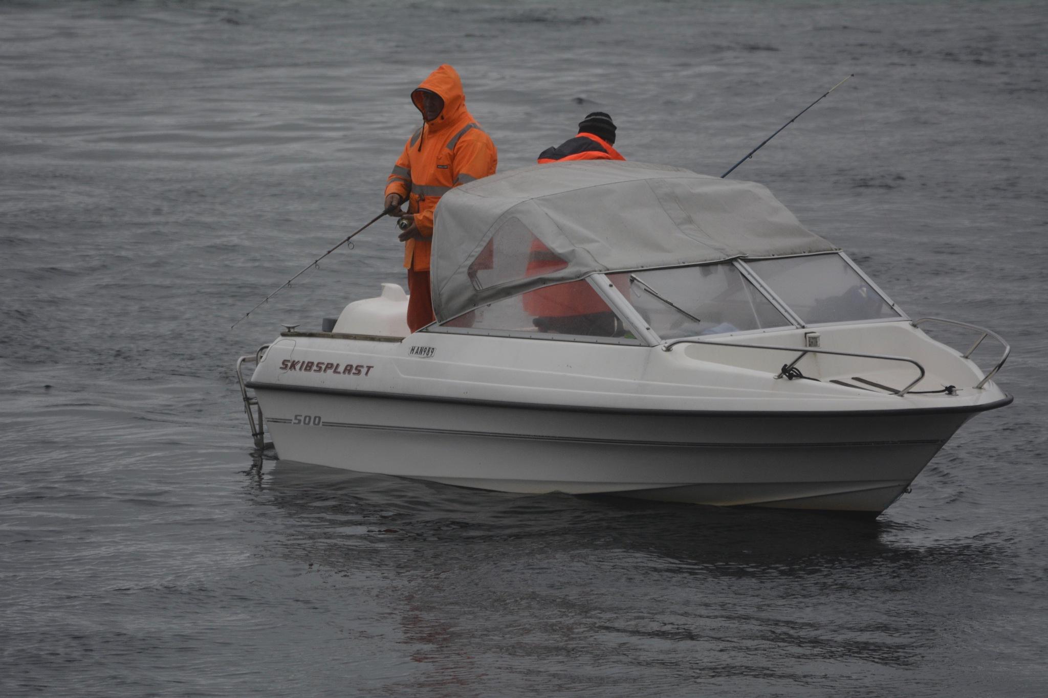 Unknown Fishermen by Lars-Toralf Utnes Storstrand