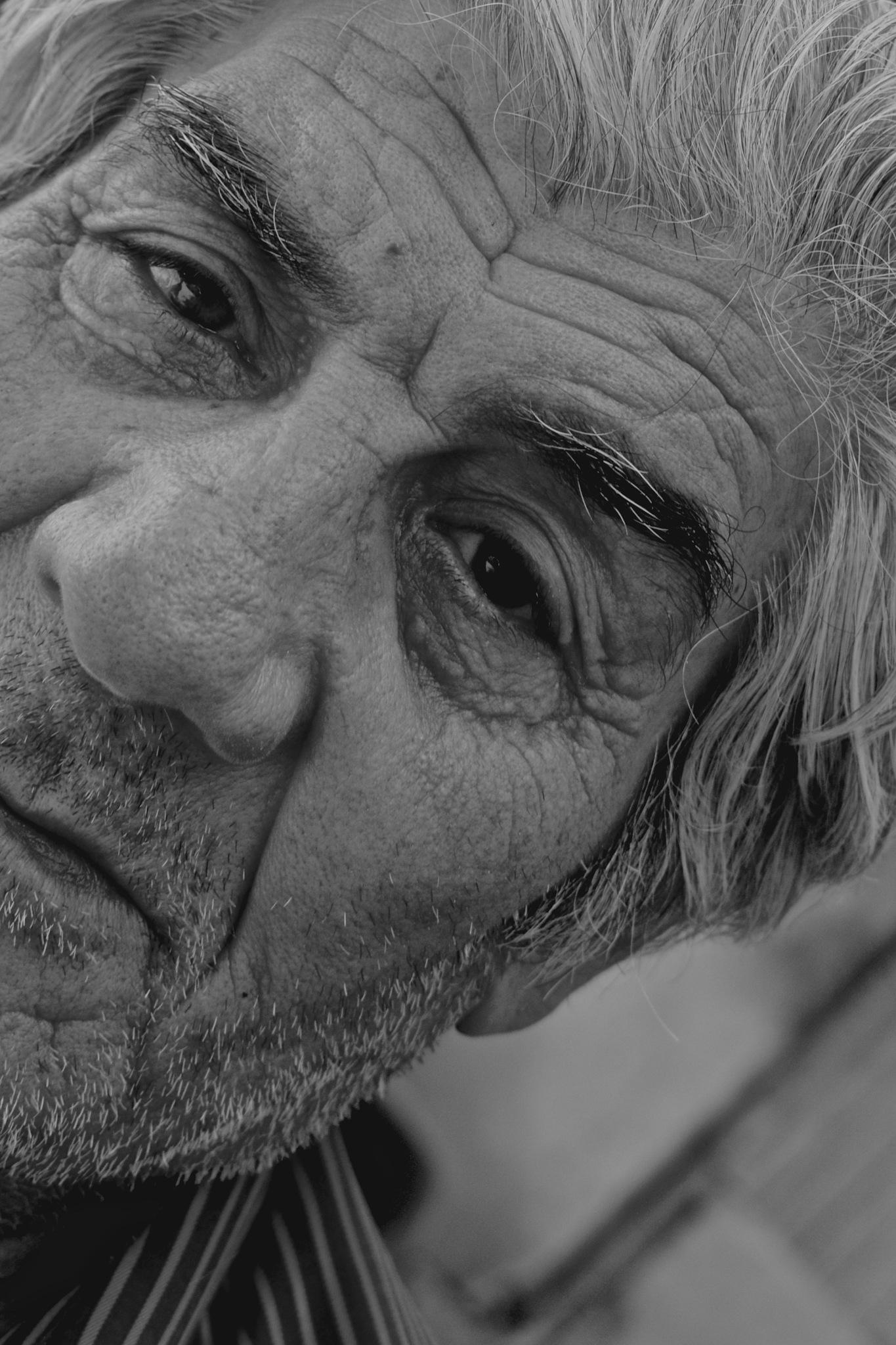 Old man by Lars-Toralf Utnes Storstrand