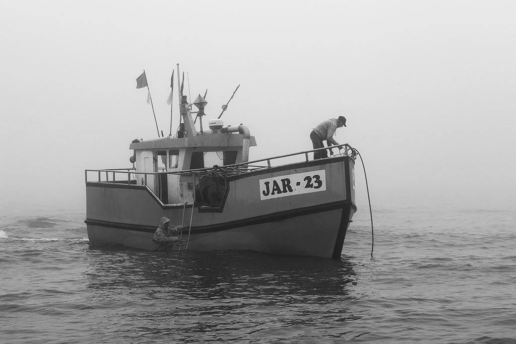 fishermen by Anna Klinkosz