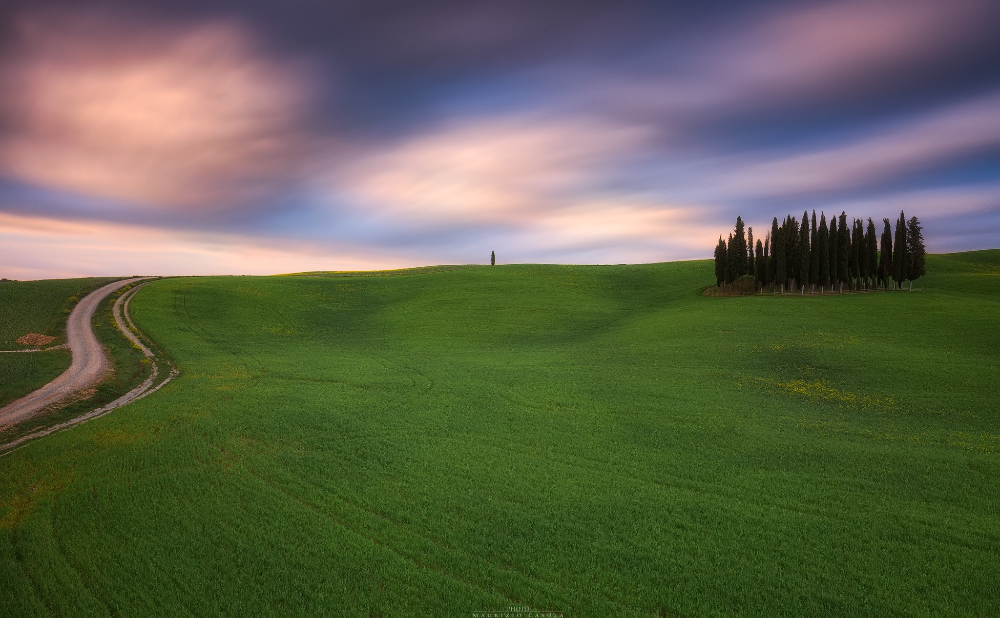Val d'Orcia Tuscany  by Maurizio Casula