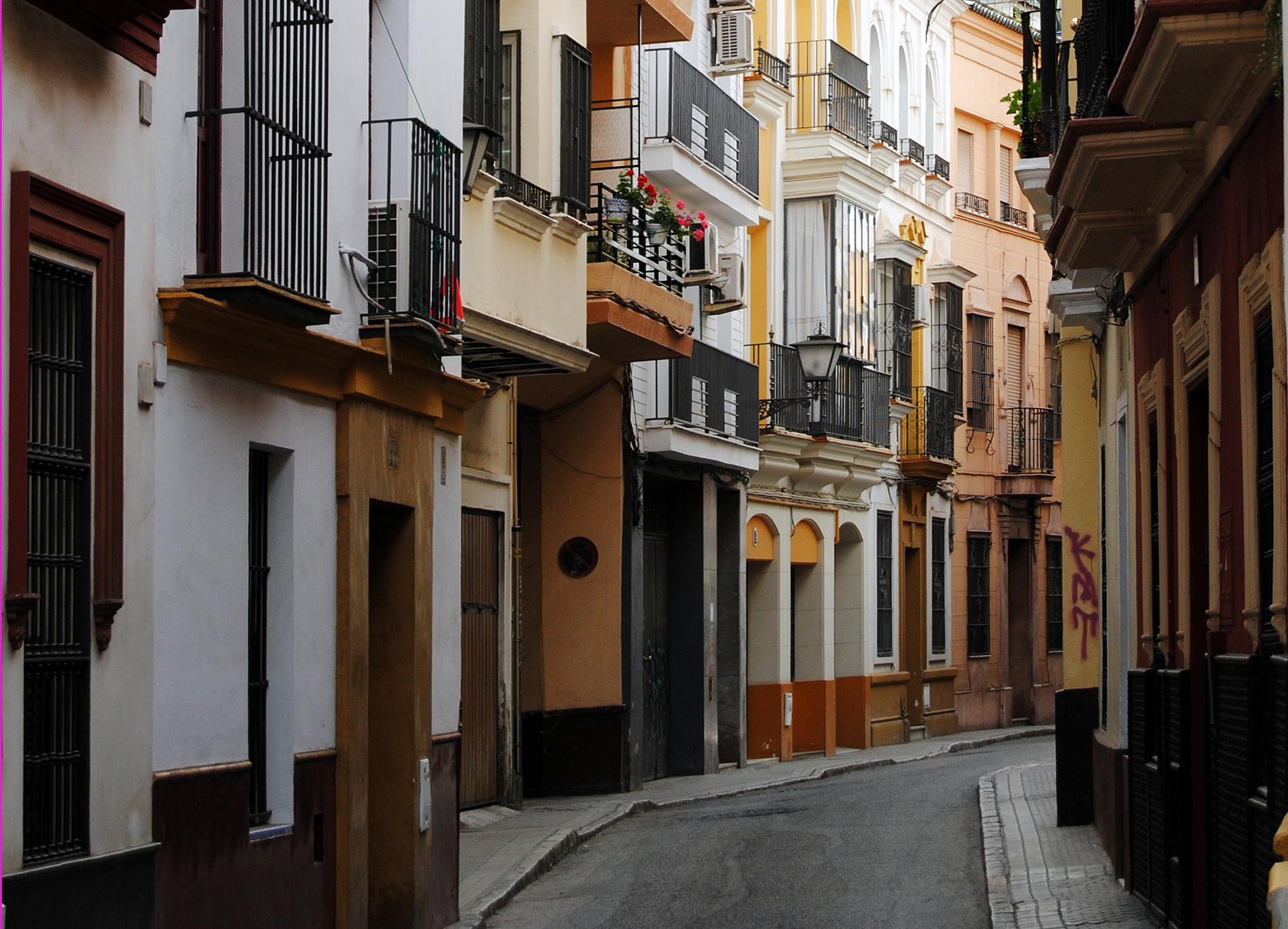 Calle Santiago. Sevilla by DavidRoldan