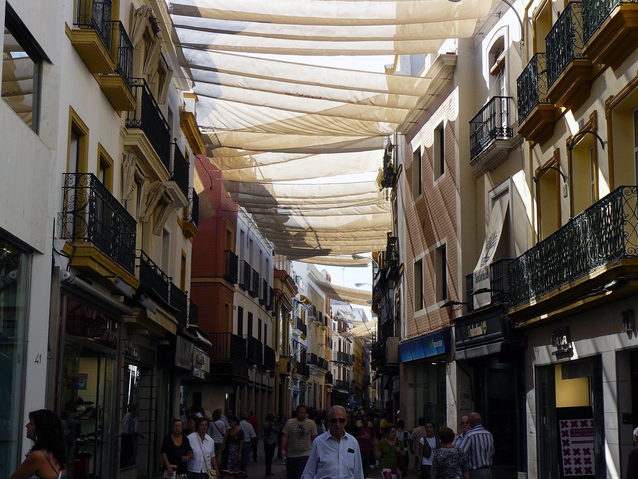 Calle Sierpes. Sevilla by DavidRoldan