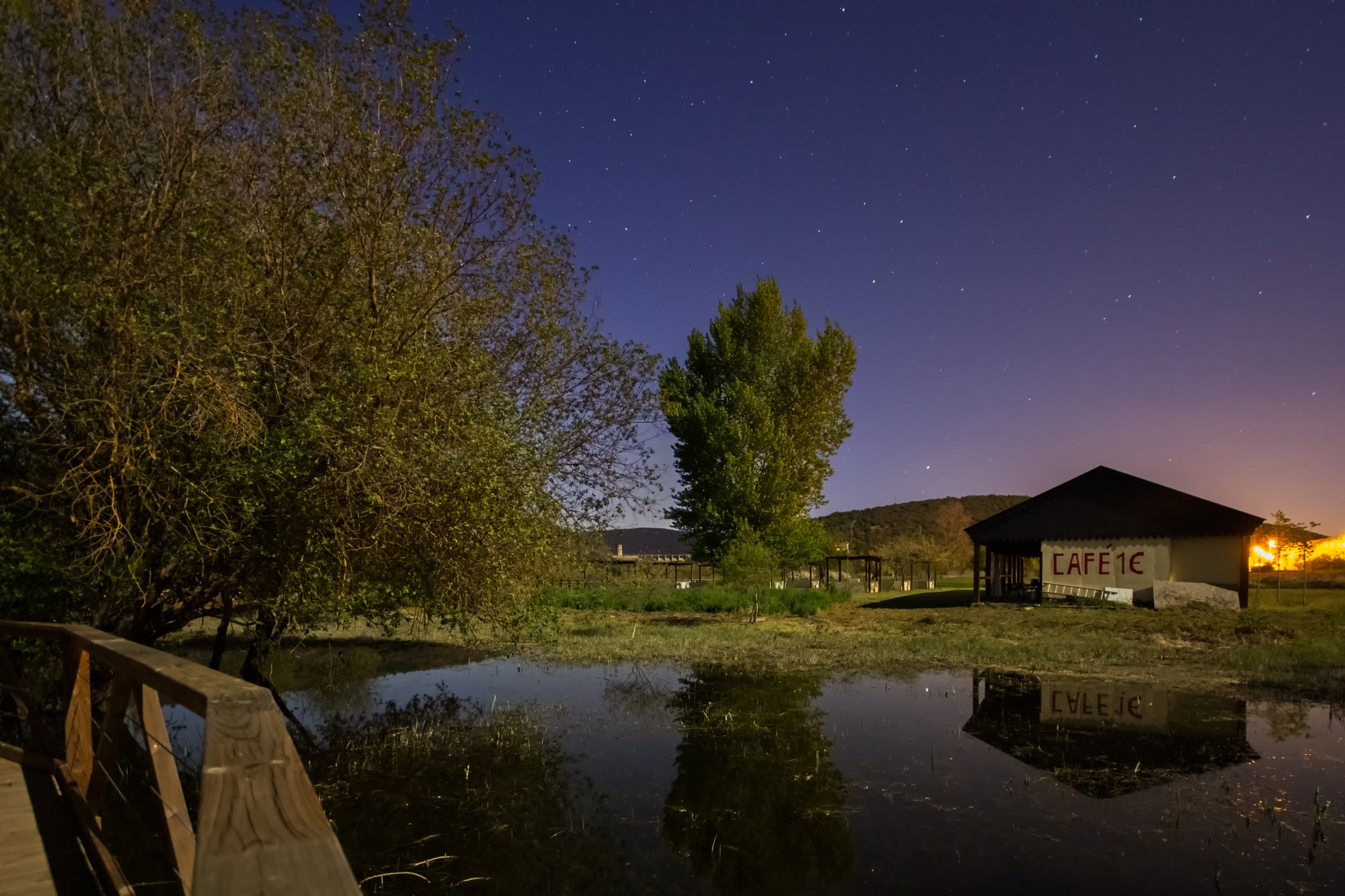 Photo in Astrophotography #night #luna #water