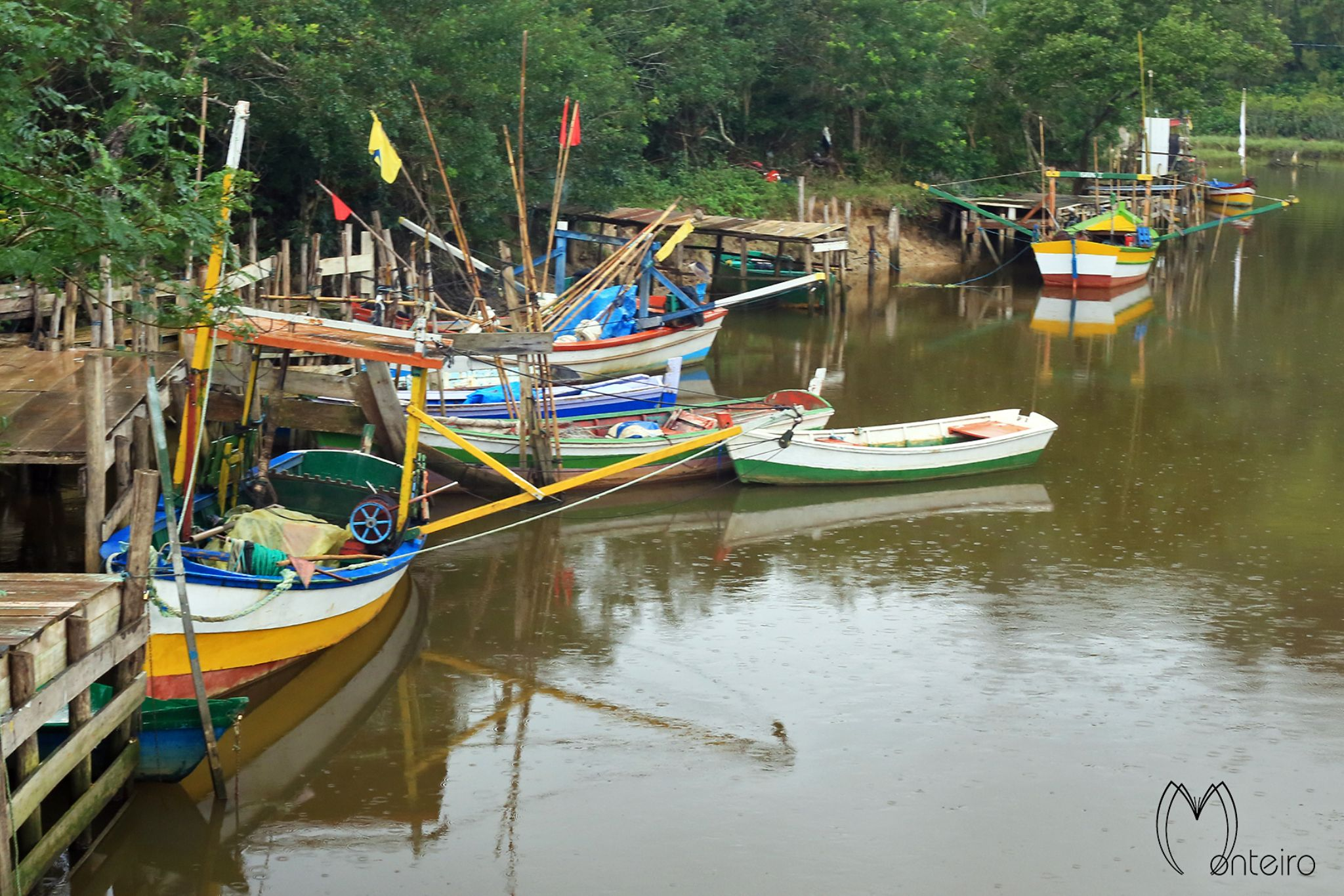 Boats by Sergio Monteiro