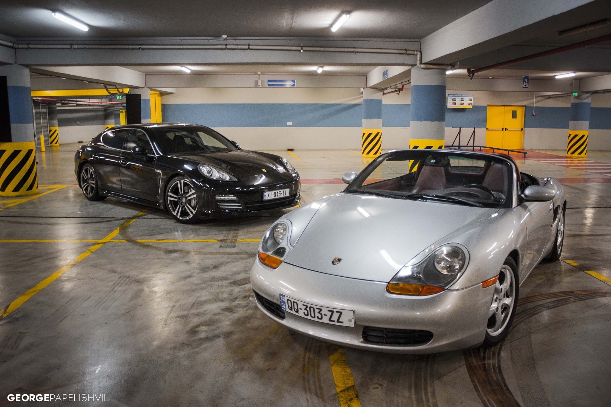Boxster & Panamera 4S by George Papelishvili
