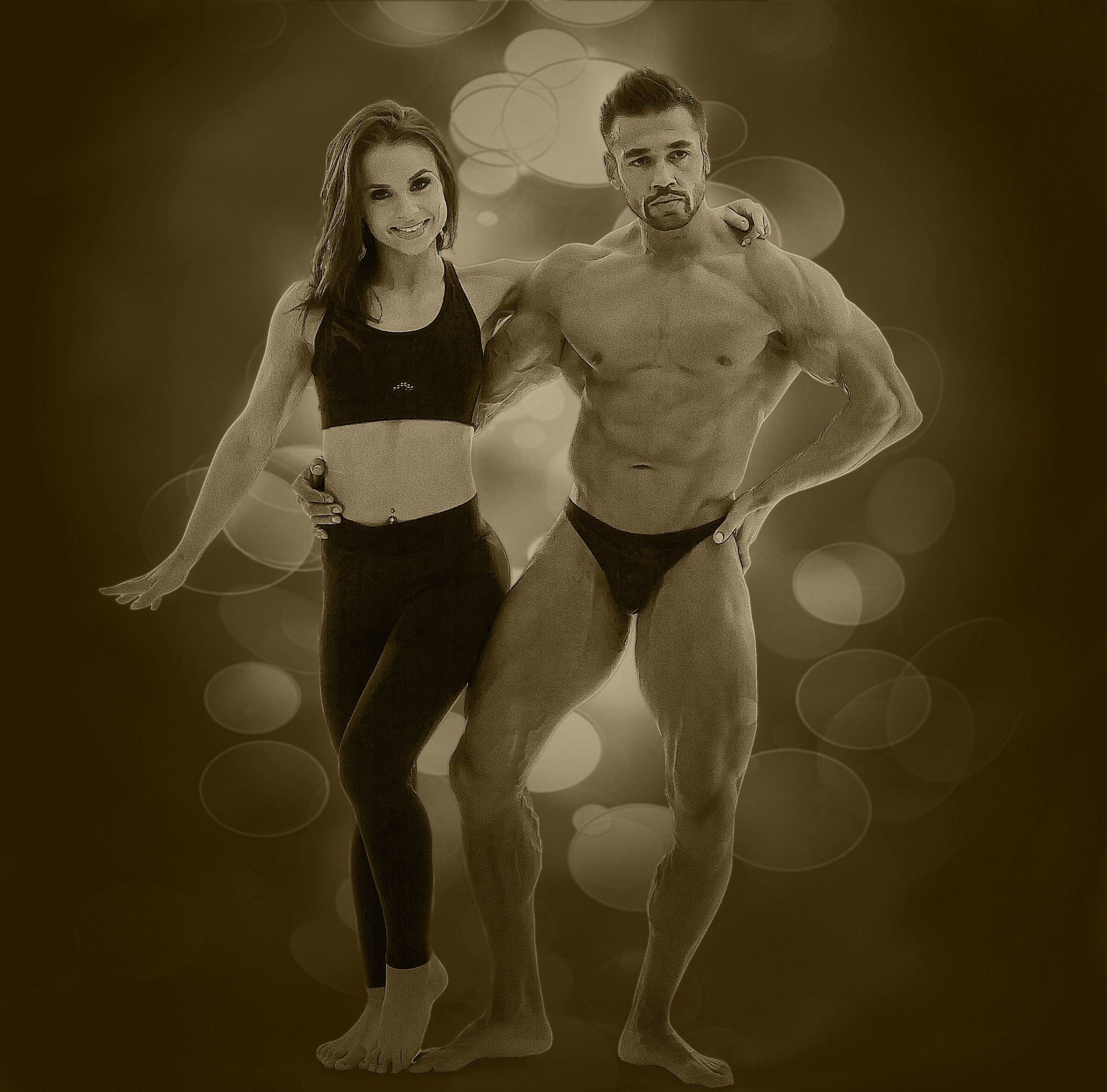 bodybuilders by Renaat