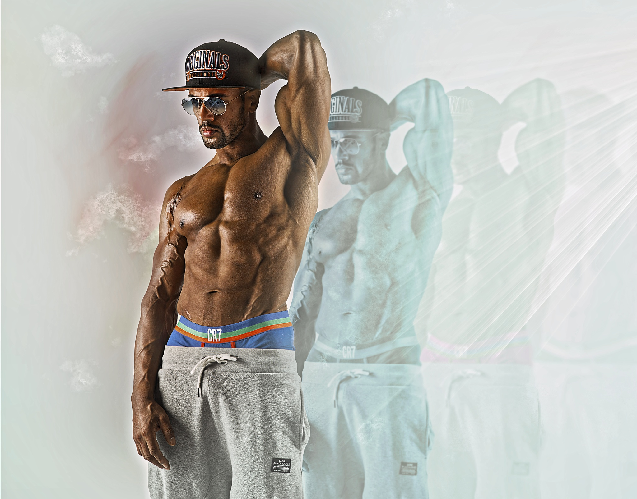 bodybuilder by Renaat