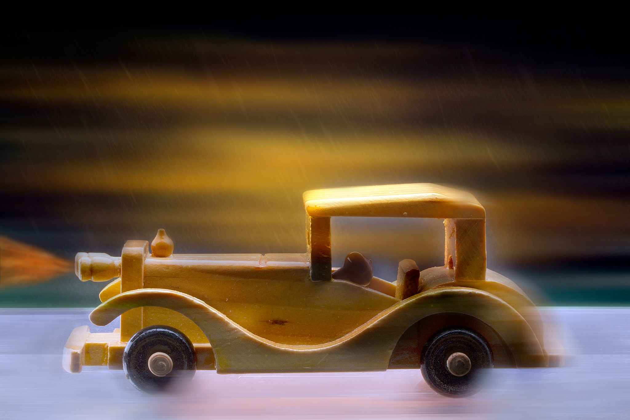 art with mini cars by Renaat
