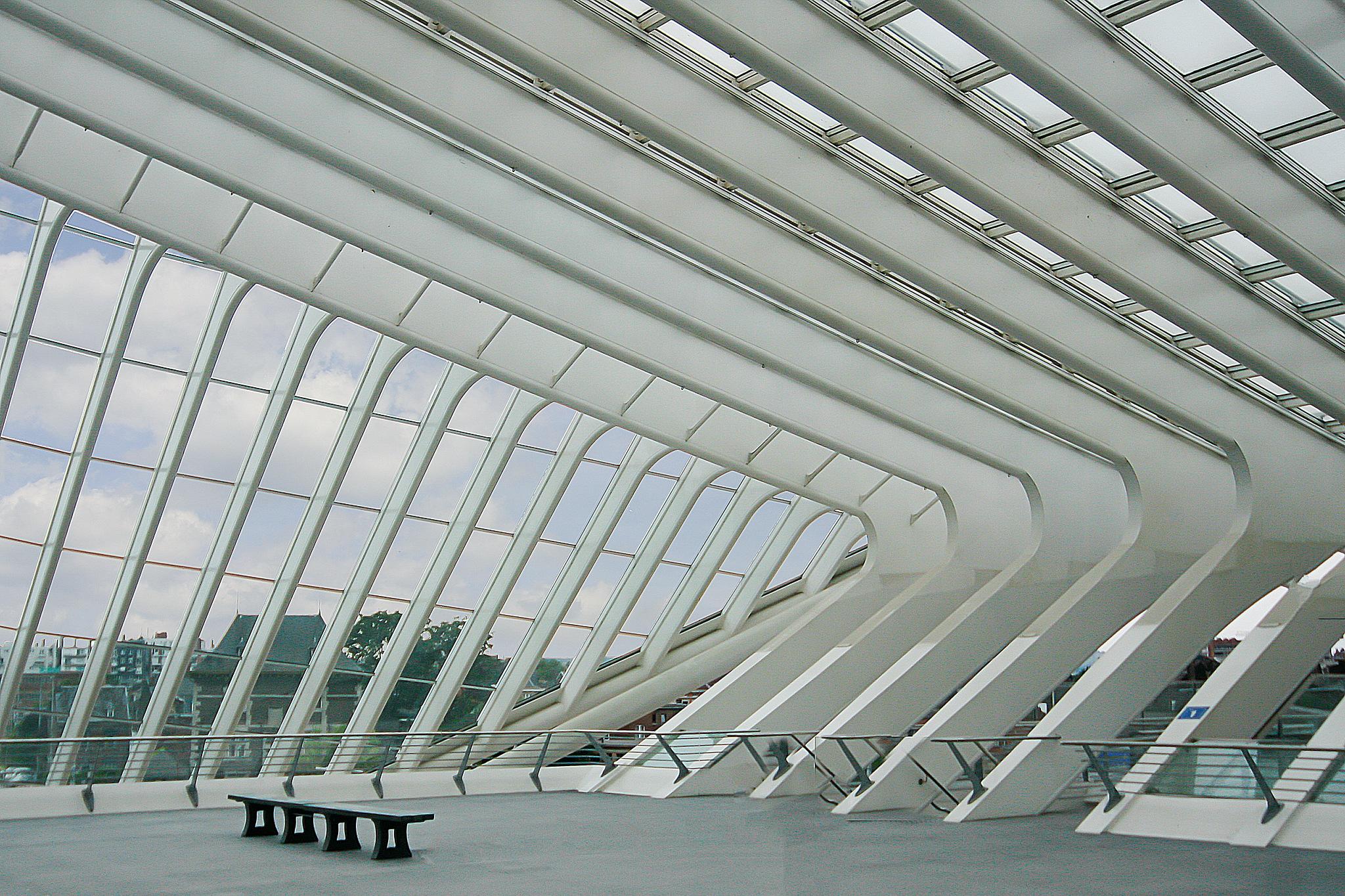 station van Luik-1 by Renaat