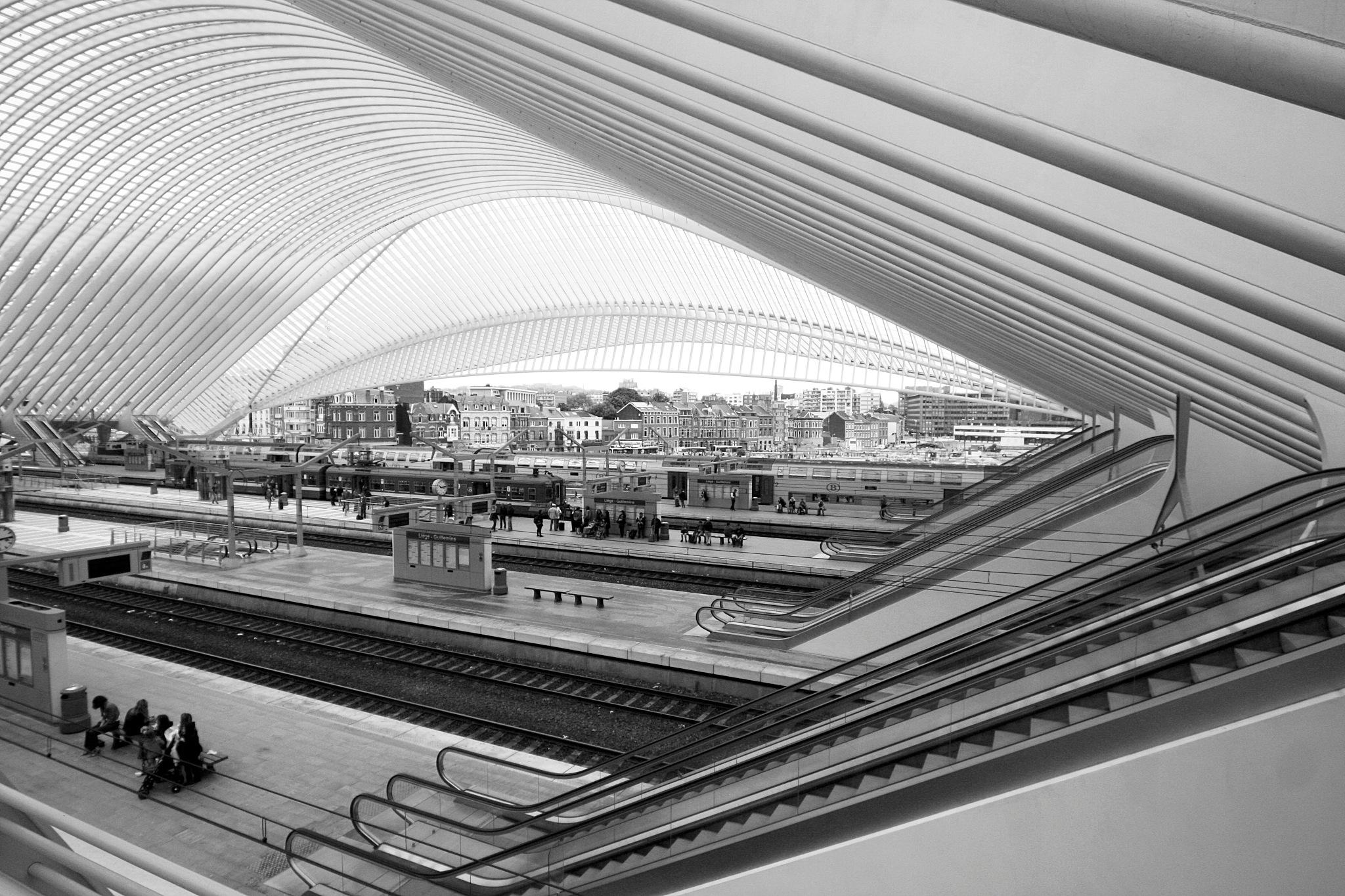 station van Luik by Renaat