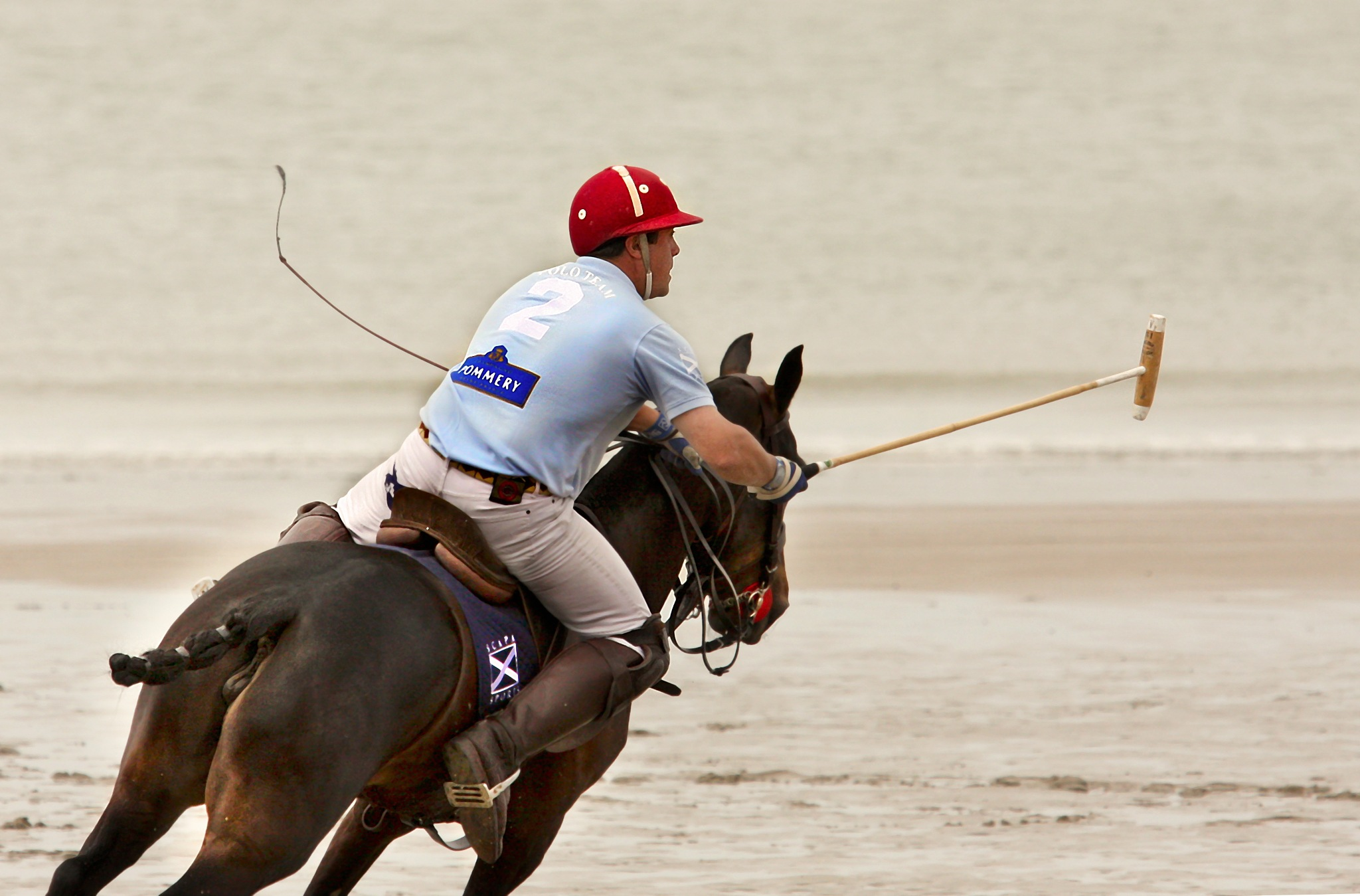 beach polo by Renaat