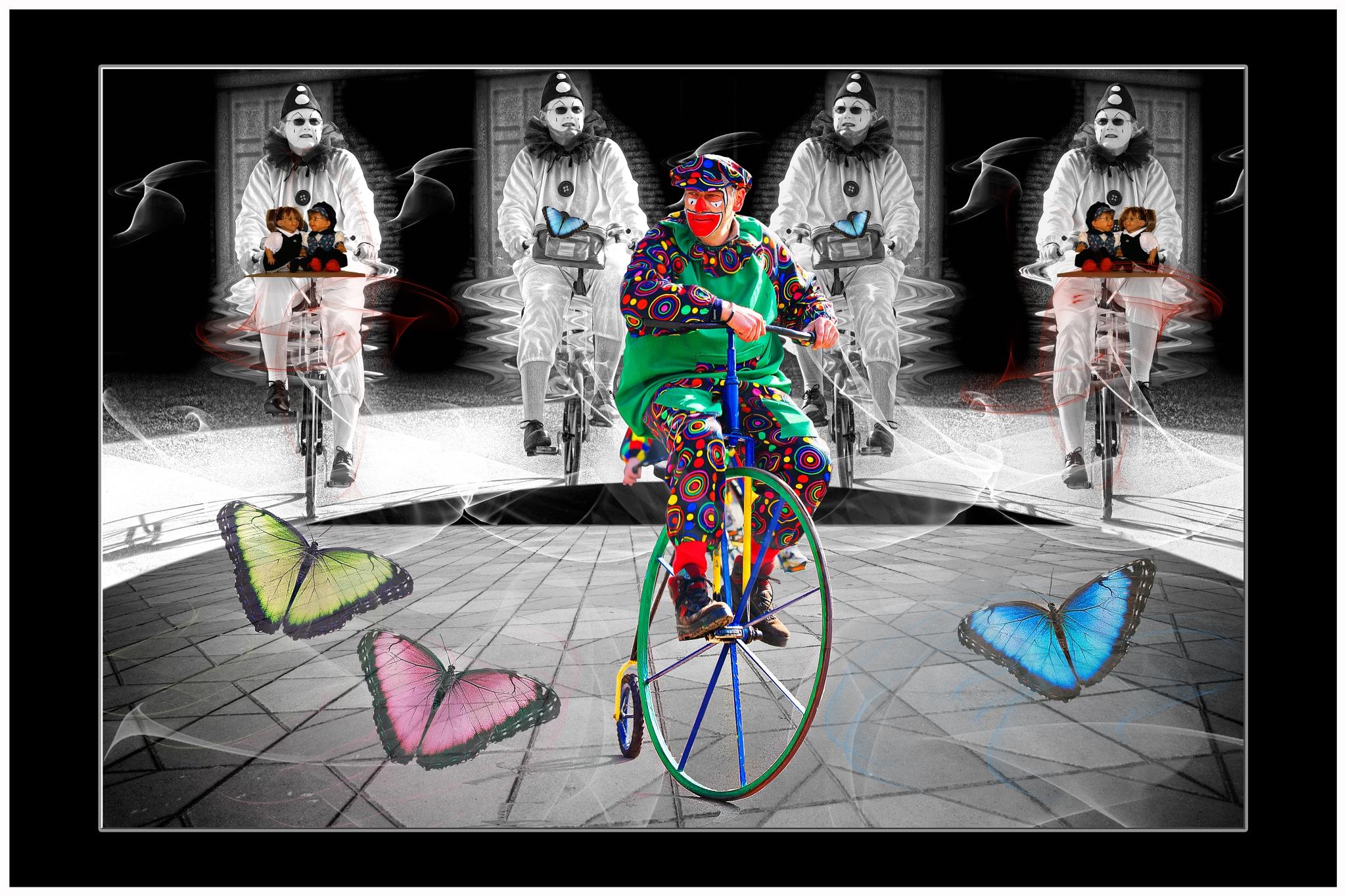 clowns by Renaat