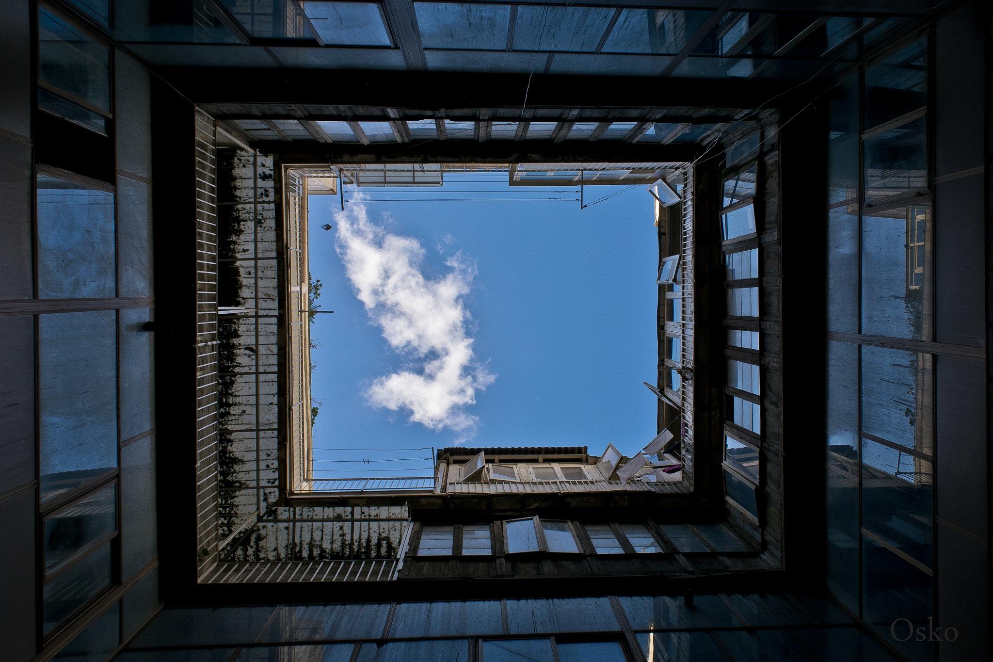 Atrapando nubes by oscarruben_suarez