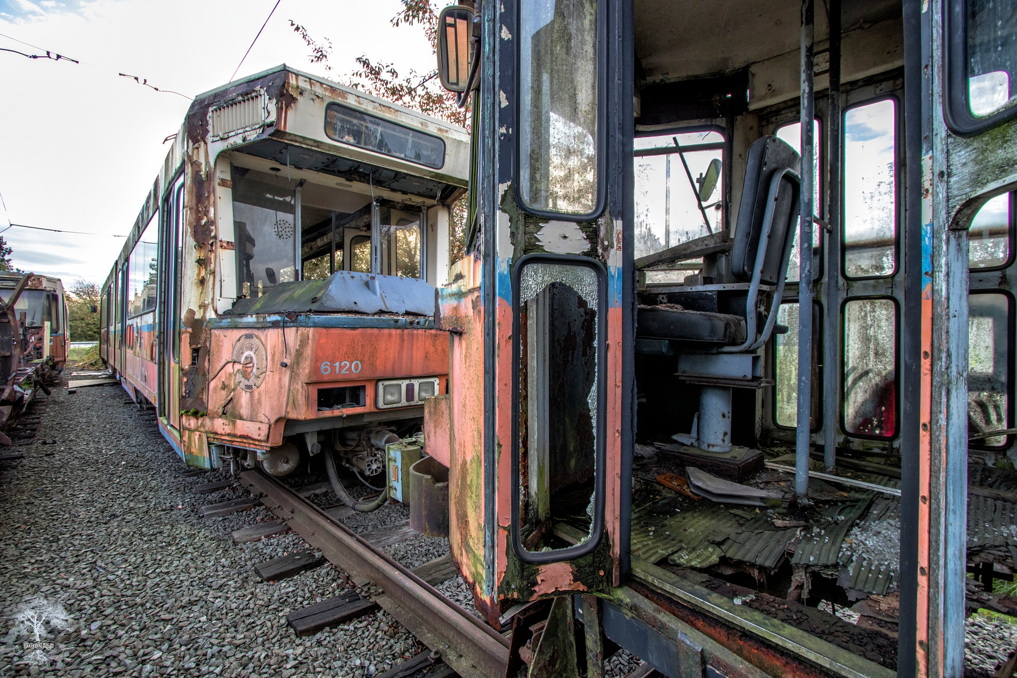 Old Trams by Marc Kurowski