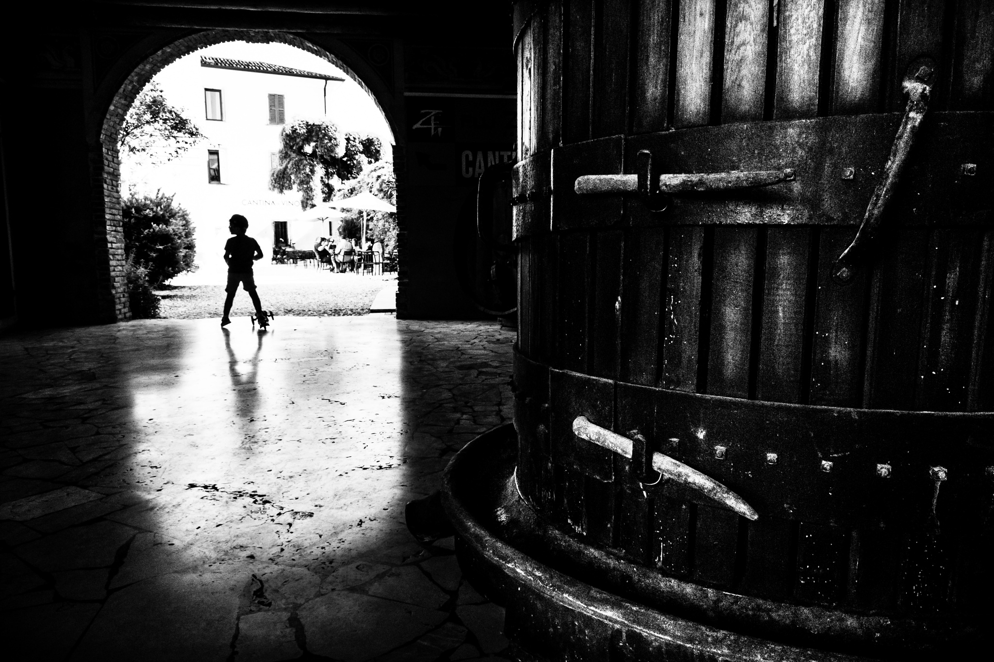 Photo in Street Photography #street #silhouette #lake