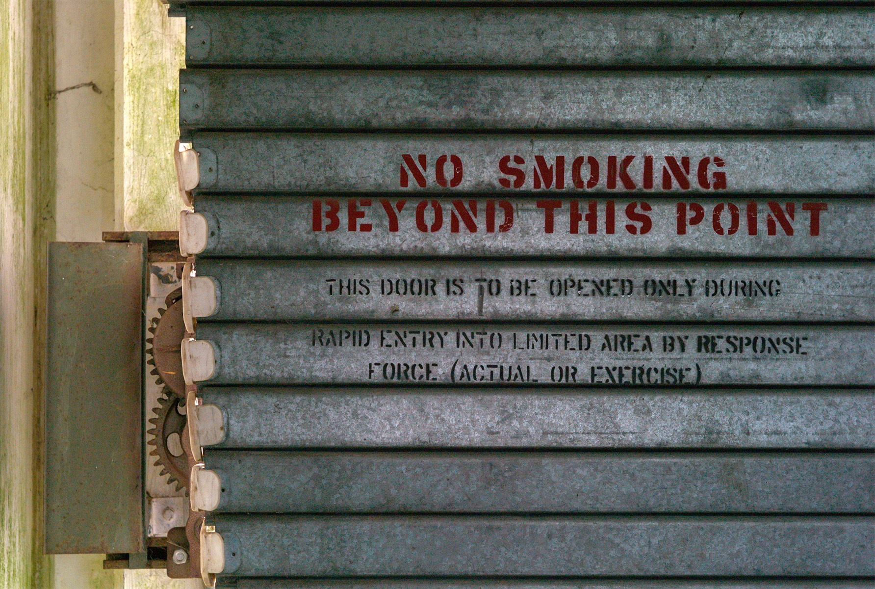 no smoking beyond by Funktrainer