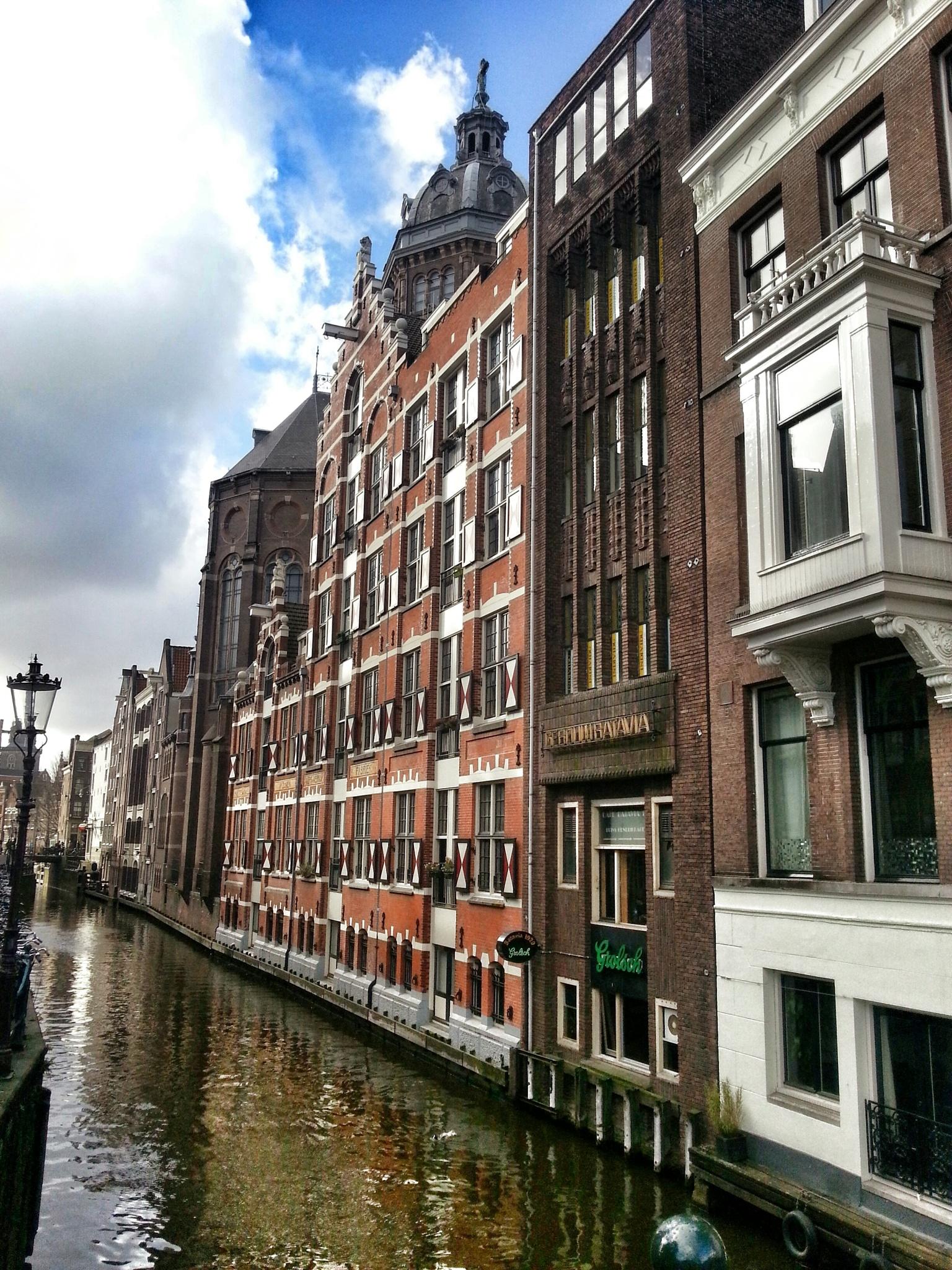 Amsterdam canal by Minimeme Photo Art
