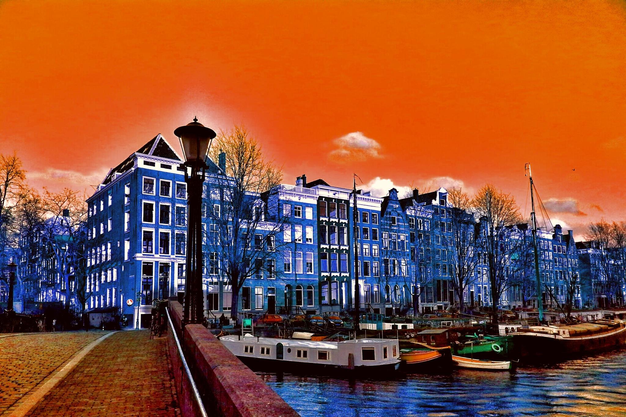 Orange Sky by Minimeme Photo Art