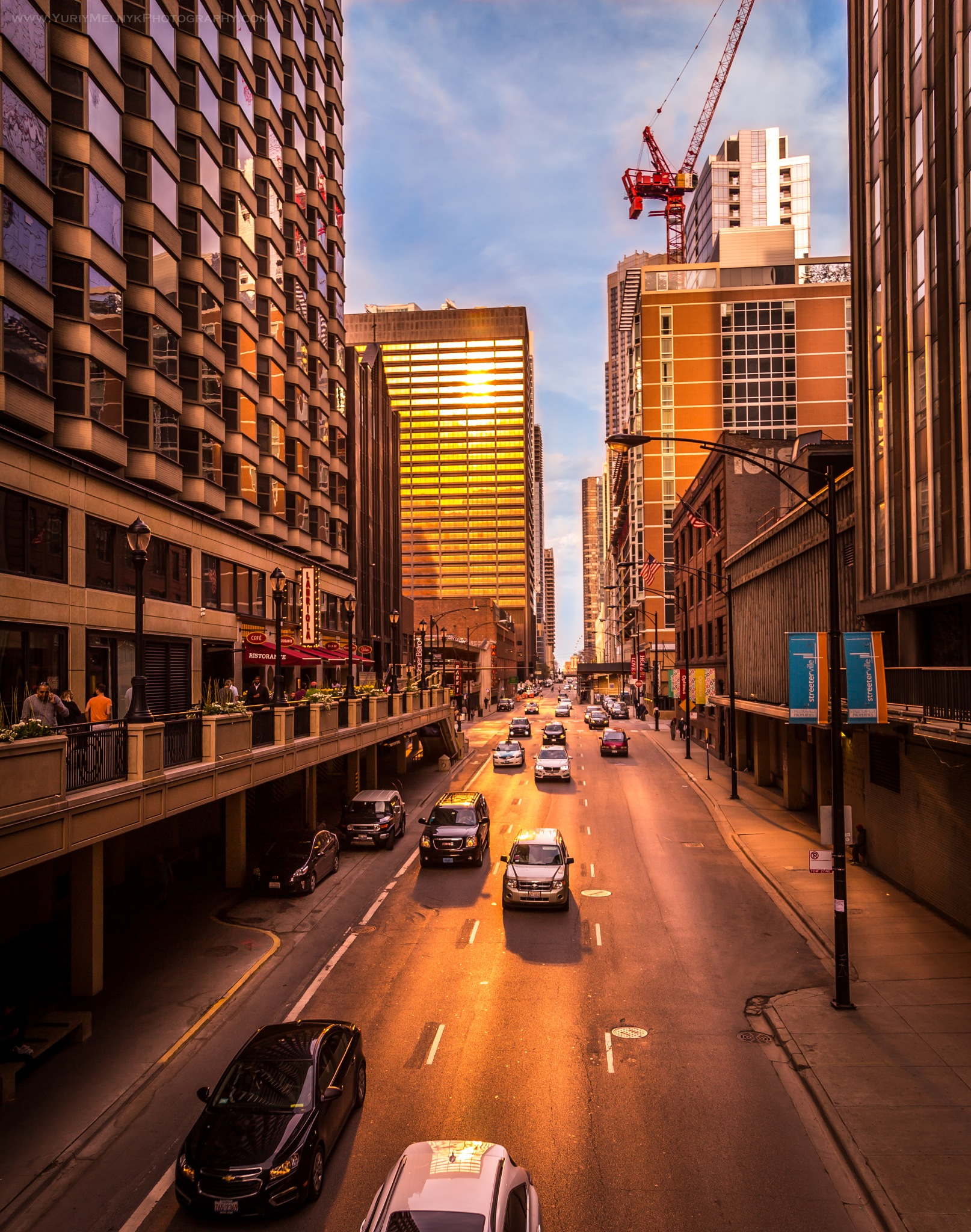 Busy Chicago by Yuriy Melnyk Photography