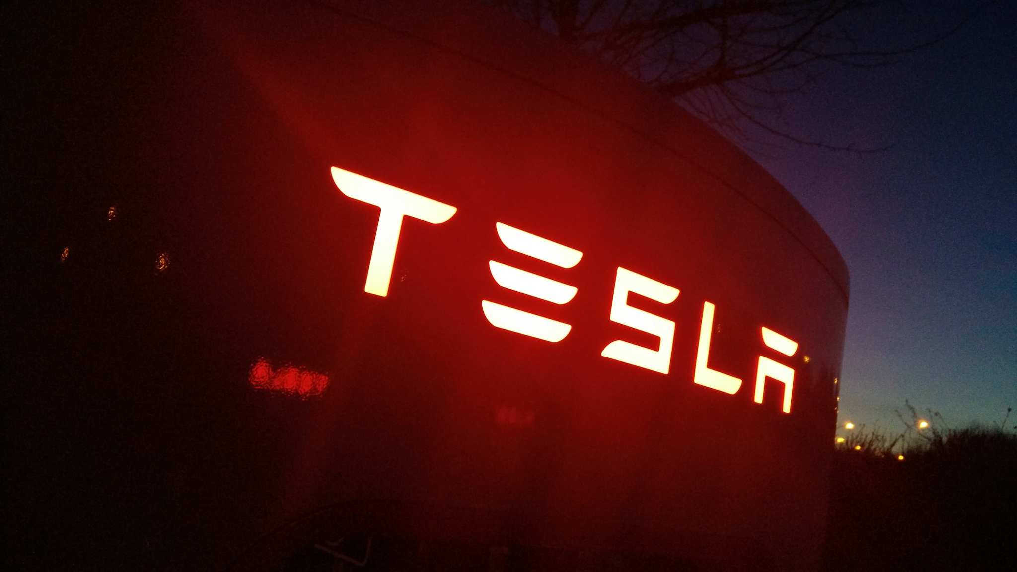 Tesla Supercharger  by r1ch1eb