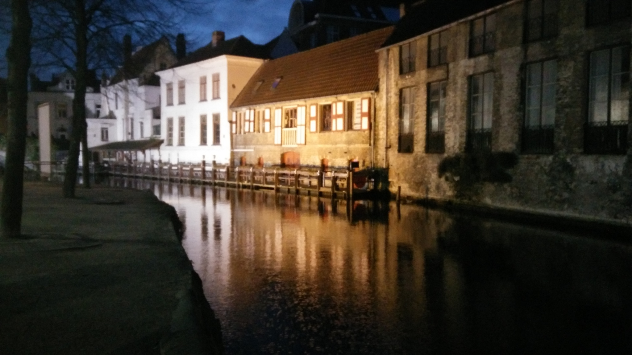 A Winter's stroll in Bruges  by r1ch1eb
