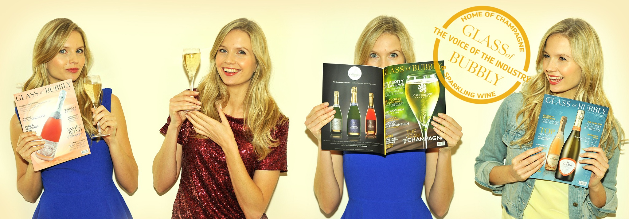 Glass of Bubbly Magazine by GlassofBubbly