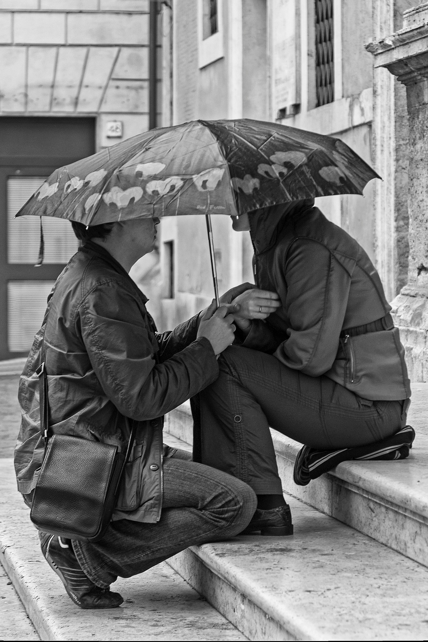 umbrella Love by GJ Besselink