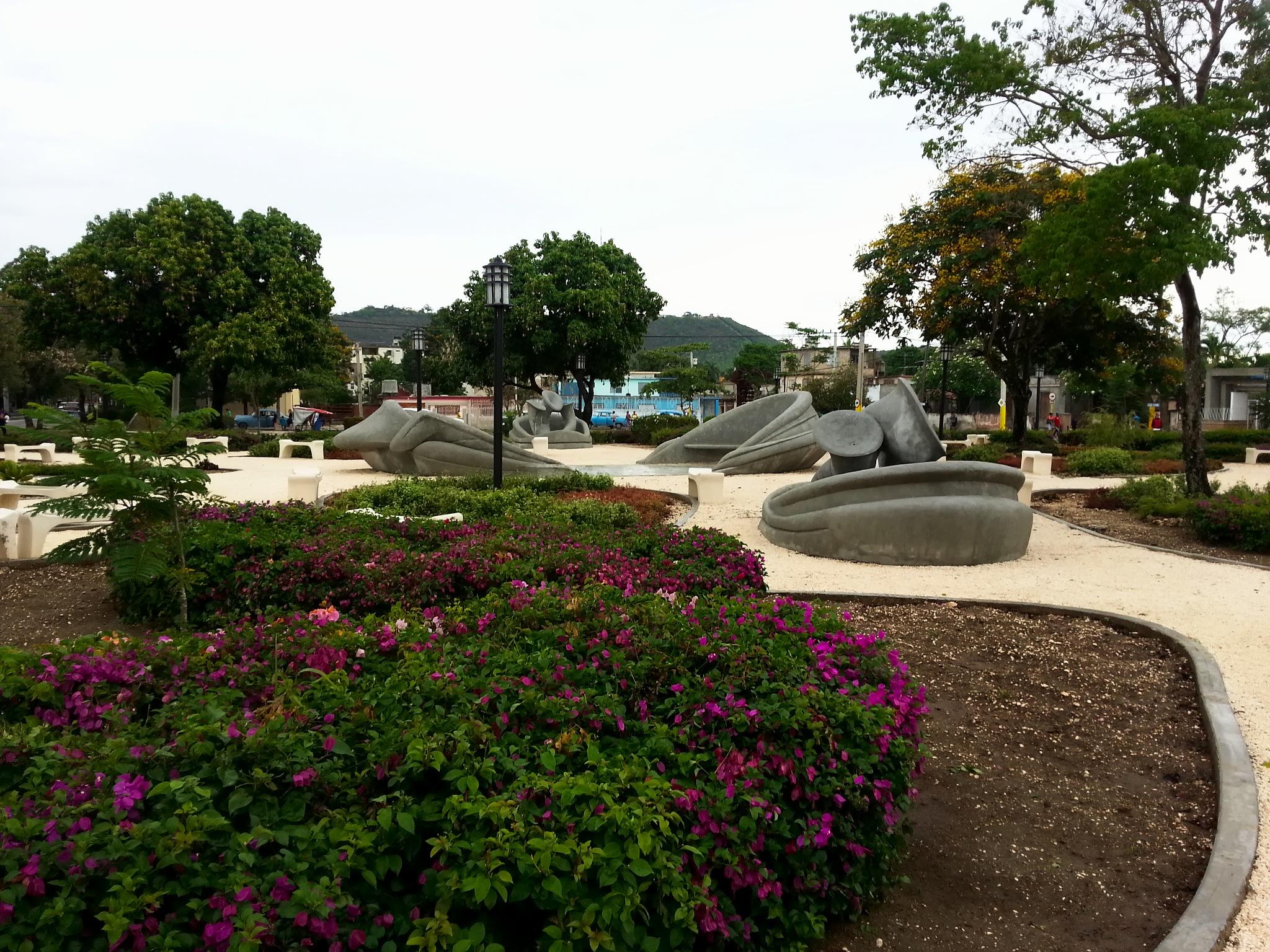 El Parque de los tiempos - Cosme Proenza by J.R.Galindo