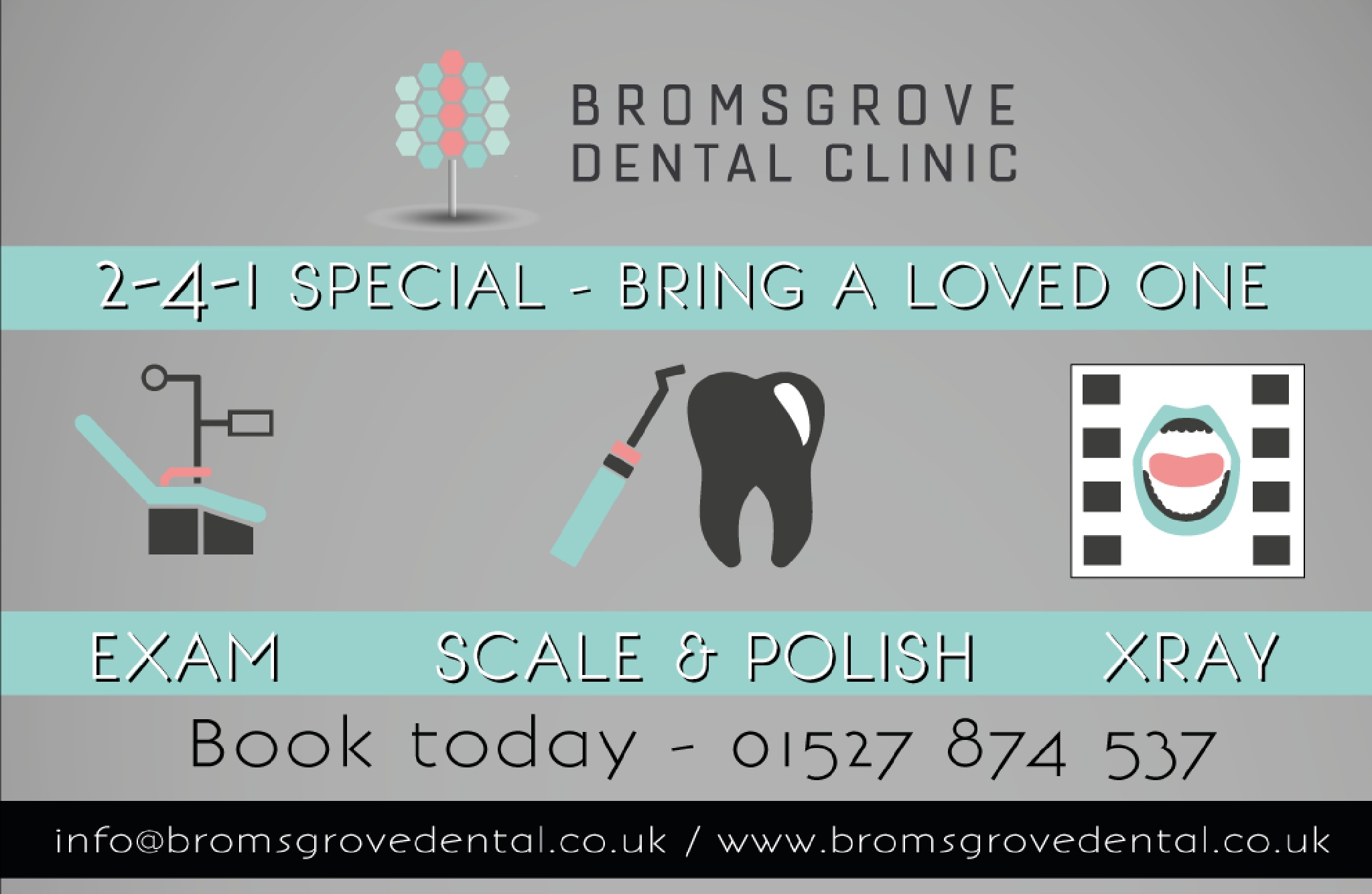 Bromsgrove Dental Clinic February Offer by Bromsgrove Dental Clinic