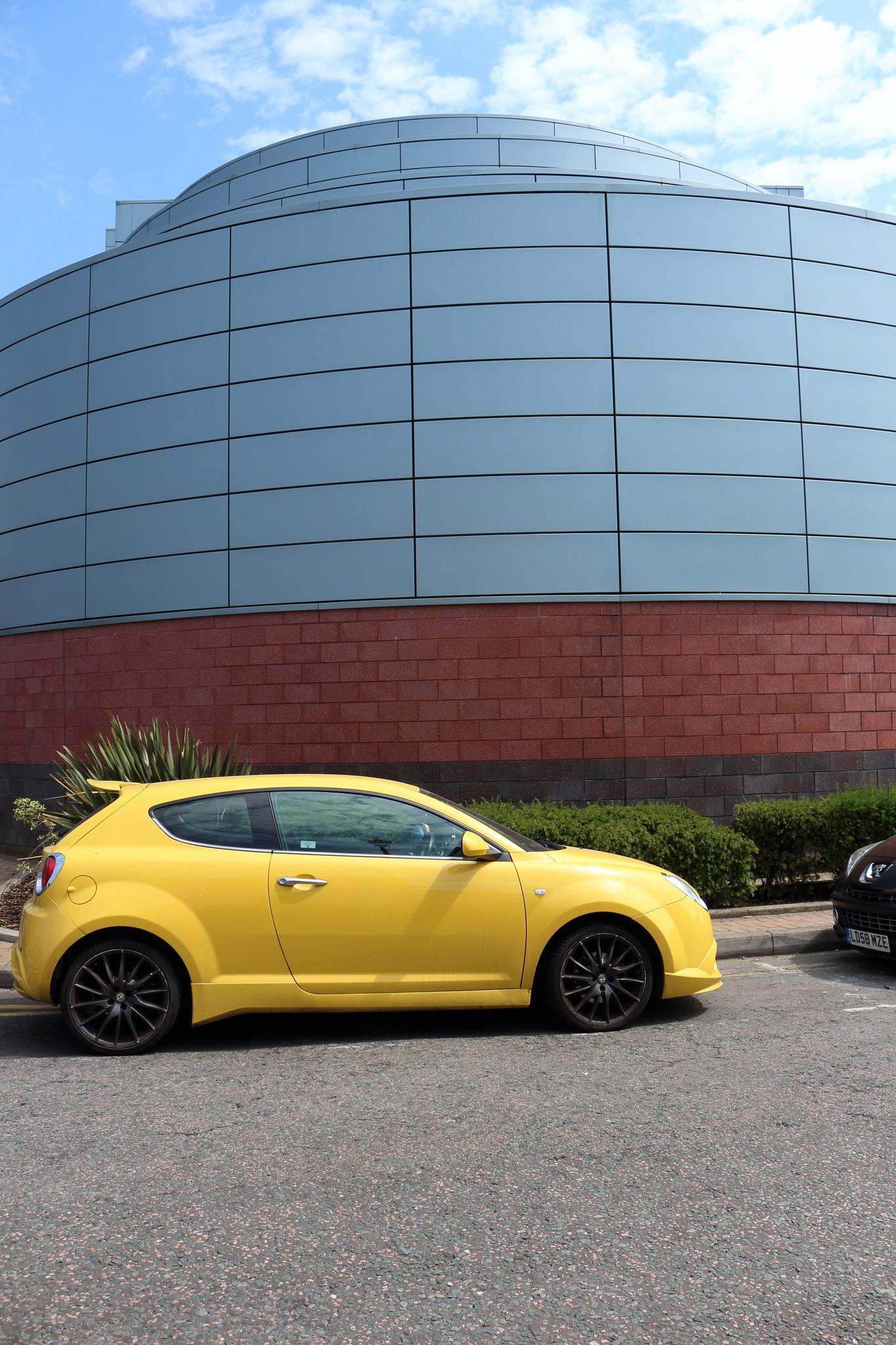 Yellow Car by mygrumpy