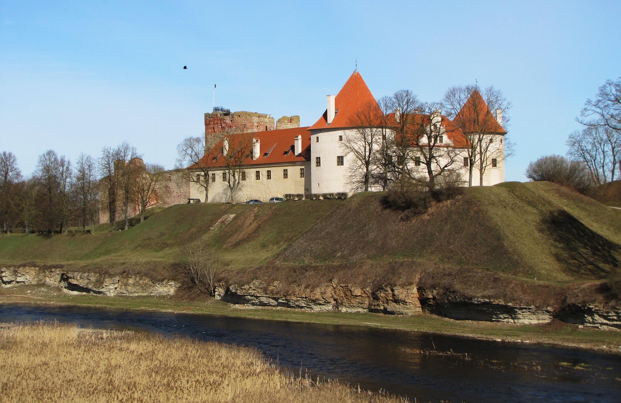 Bauska castle by Ilga Freimane