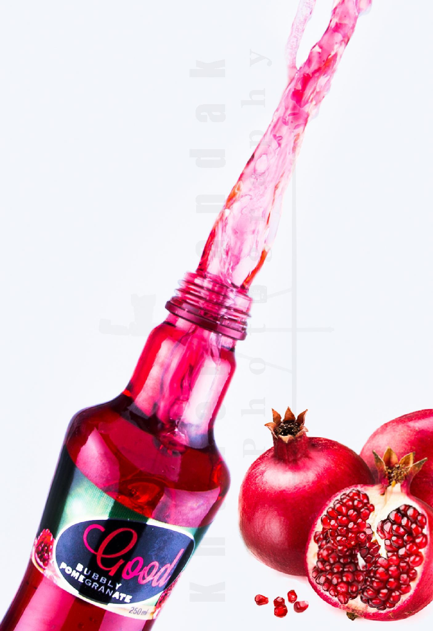 Pomegranate Drink by Khader Bandak