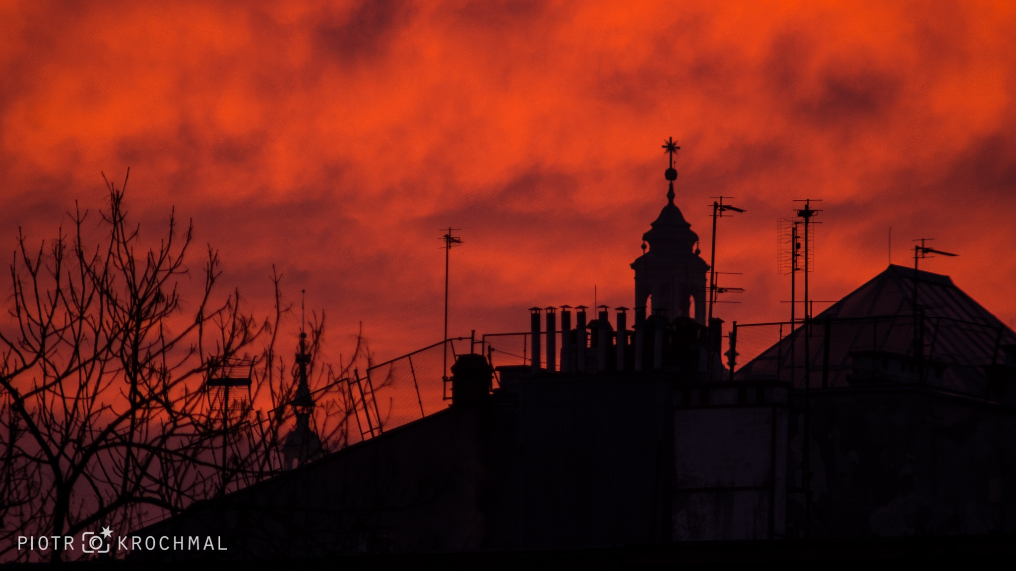 Morning Roofs by PiotrKrochmal