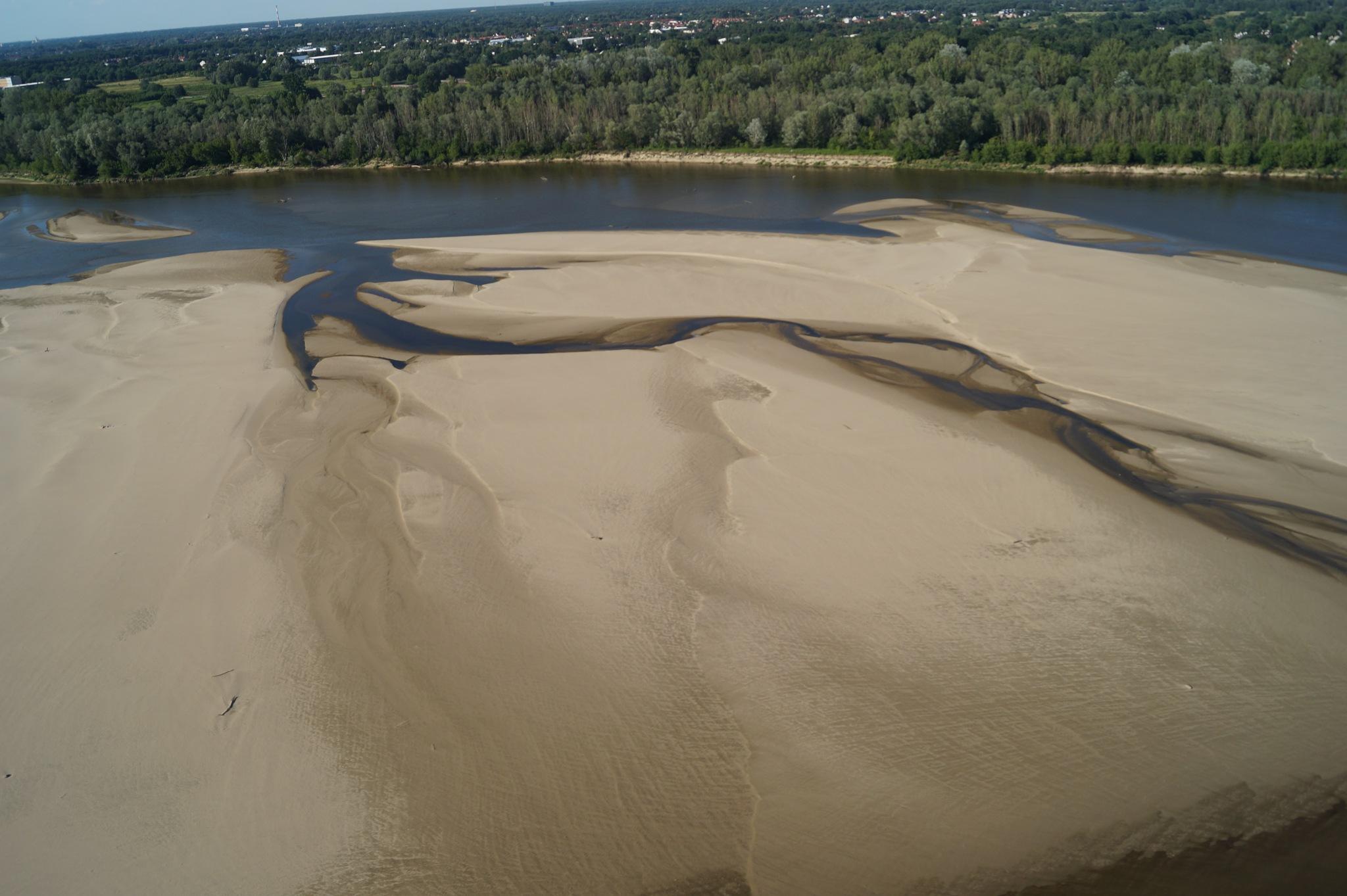Rzeka Wisła | Vistula River by Michał Piotr Drzewiecki