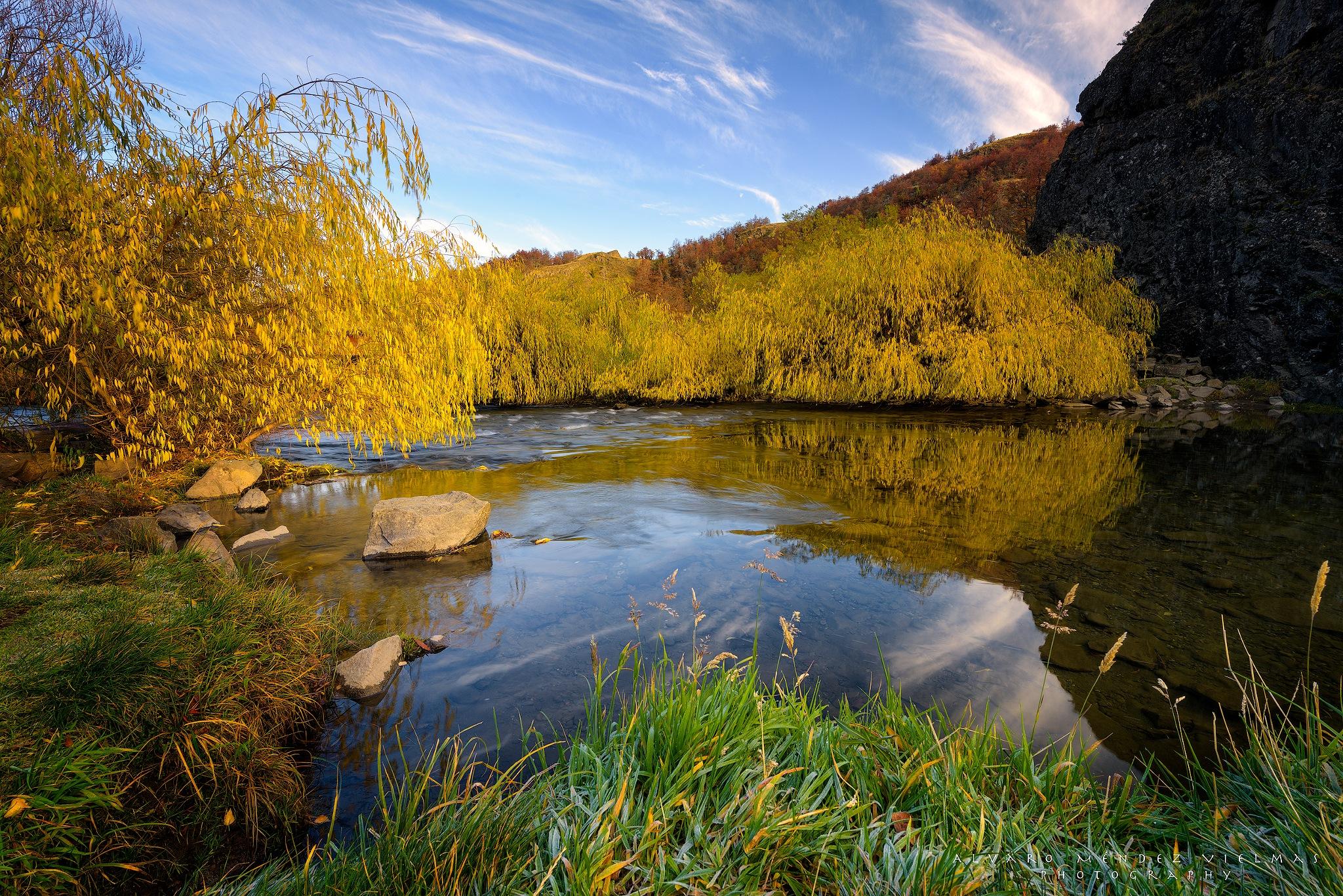 Calm river by Álvaro Méndez Vielmas