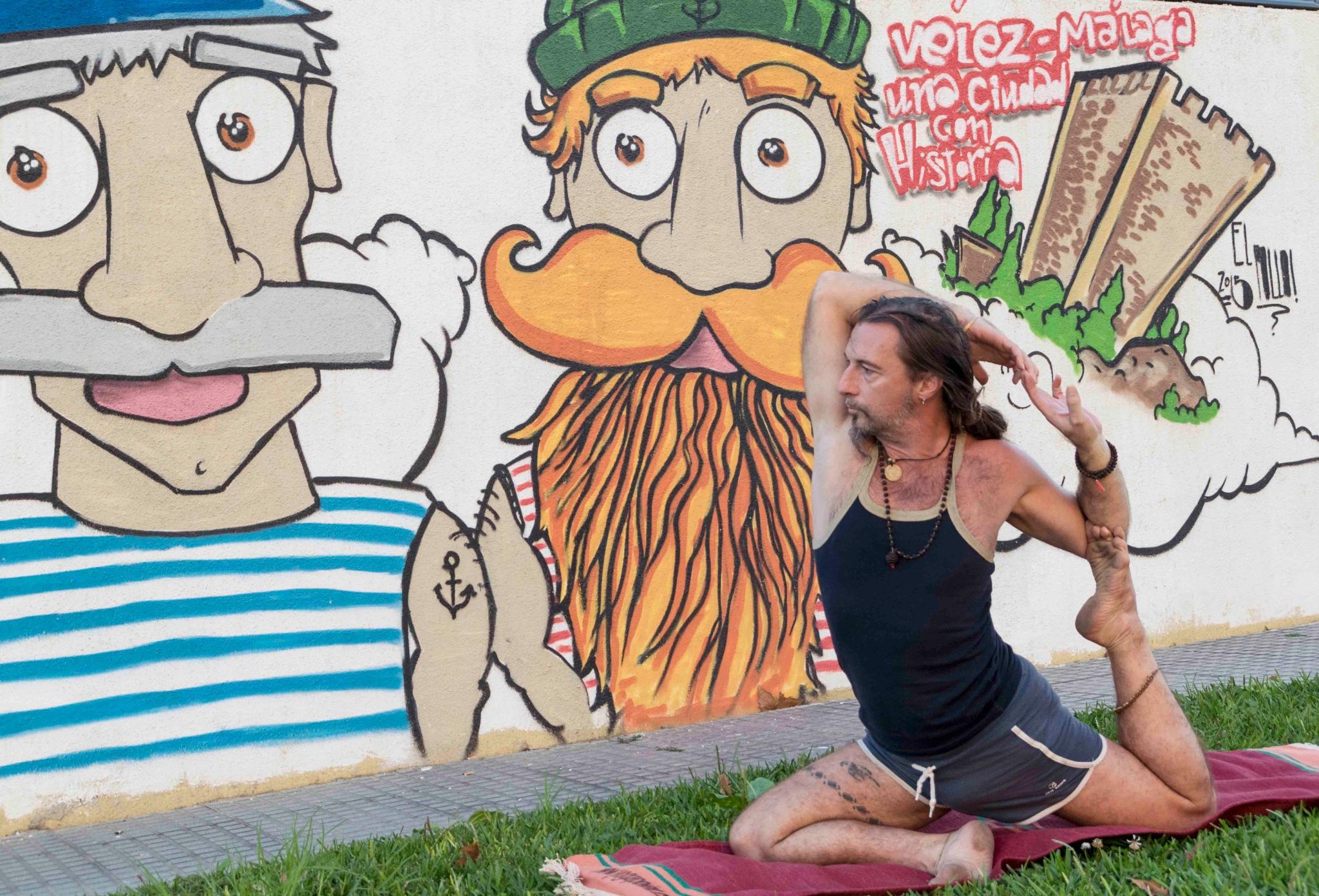 yogascapes 9 by Erik Salas