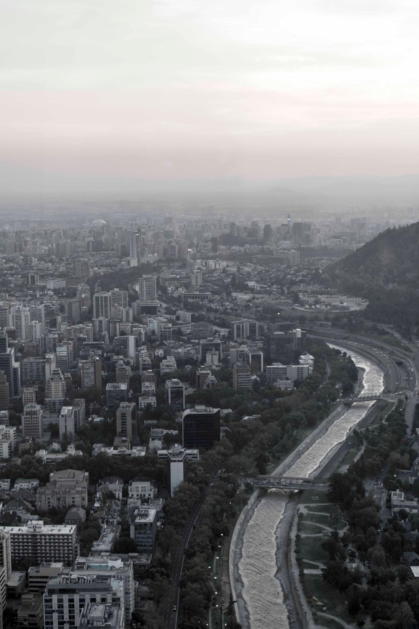 City aerial scapes by Erik Salas