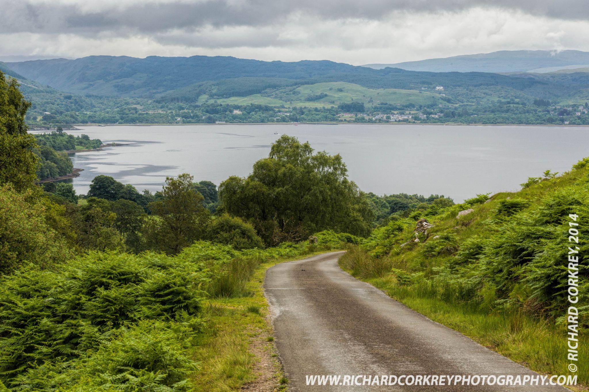 Loch Etive from Na Maoilean by Richard Corkrey