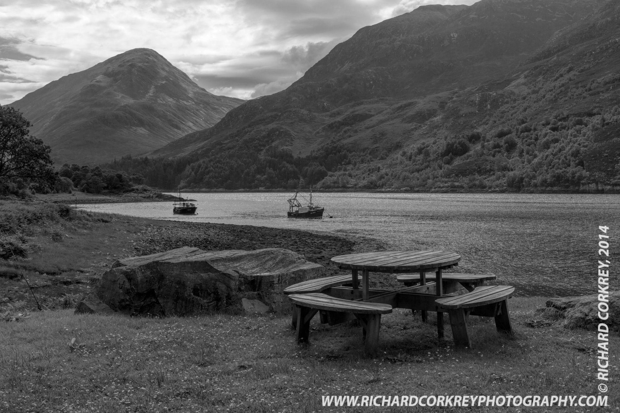 Scottish Hospitality by Richard Corkrey