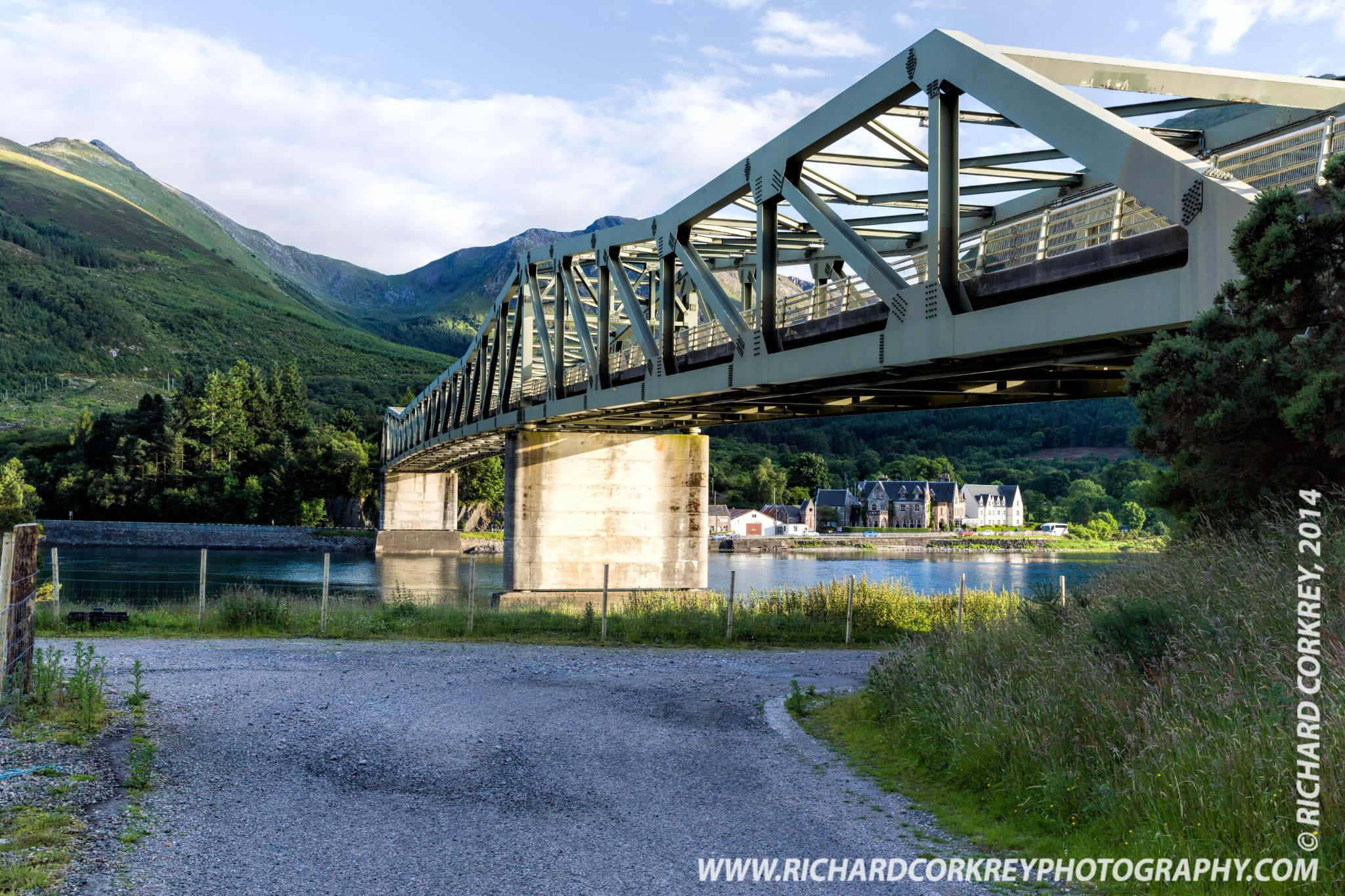 Ballachulish Bridge by Richard Corkrey