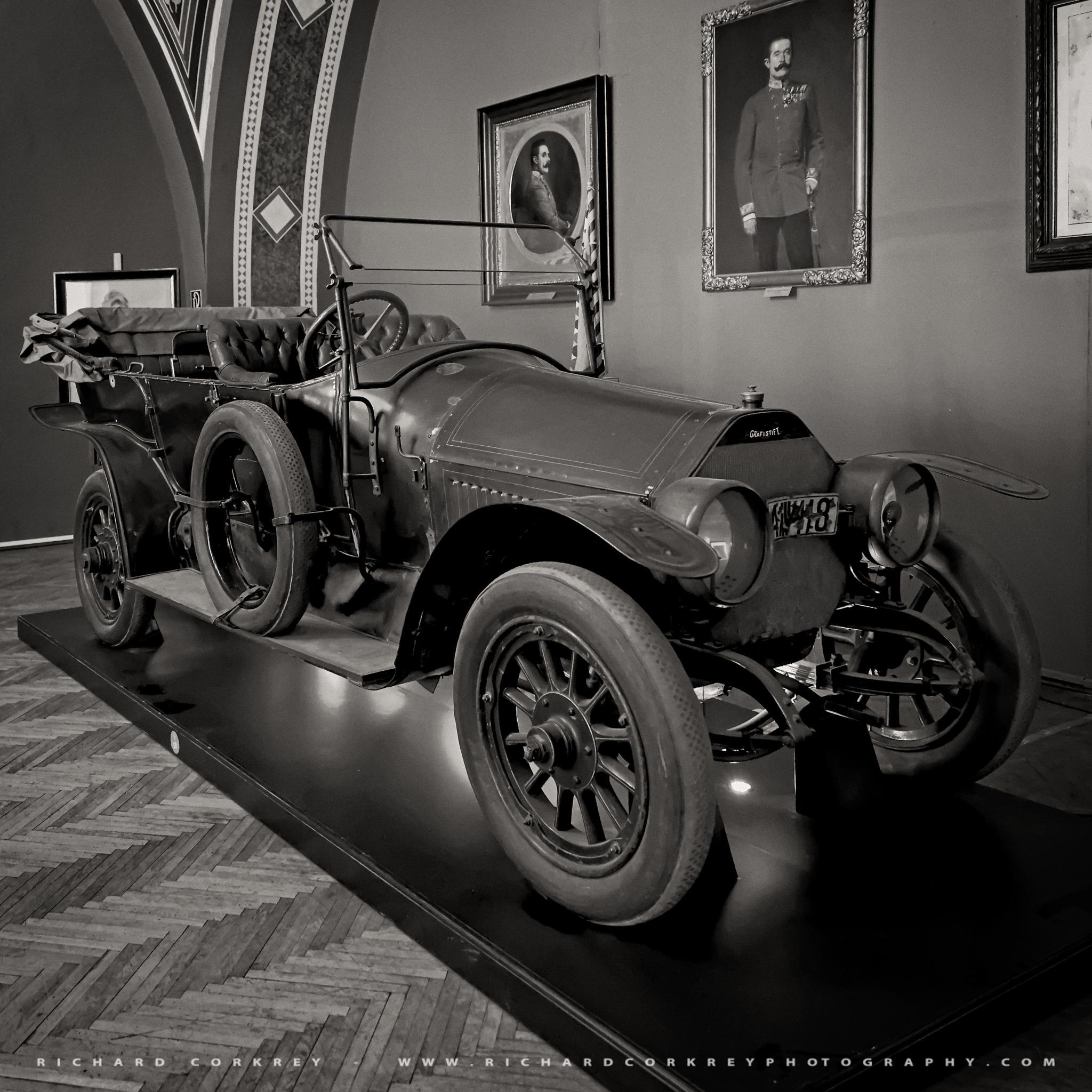 Franz Ferdinand's Car by Richard Corkrey
