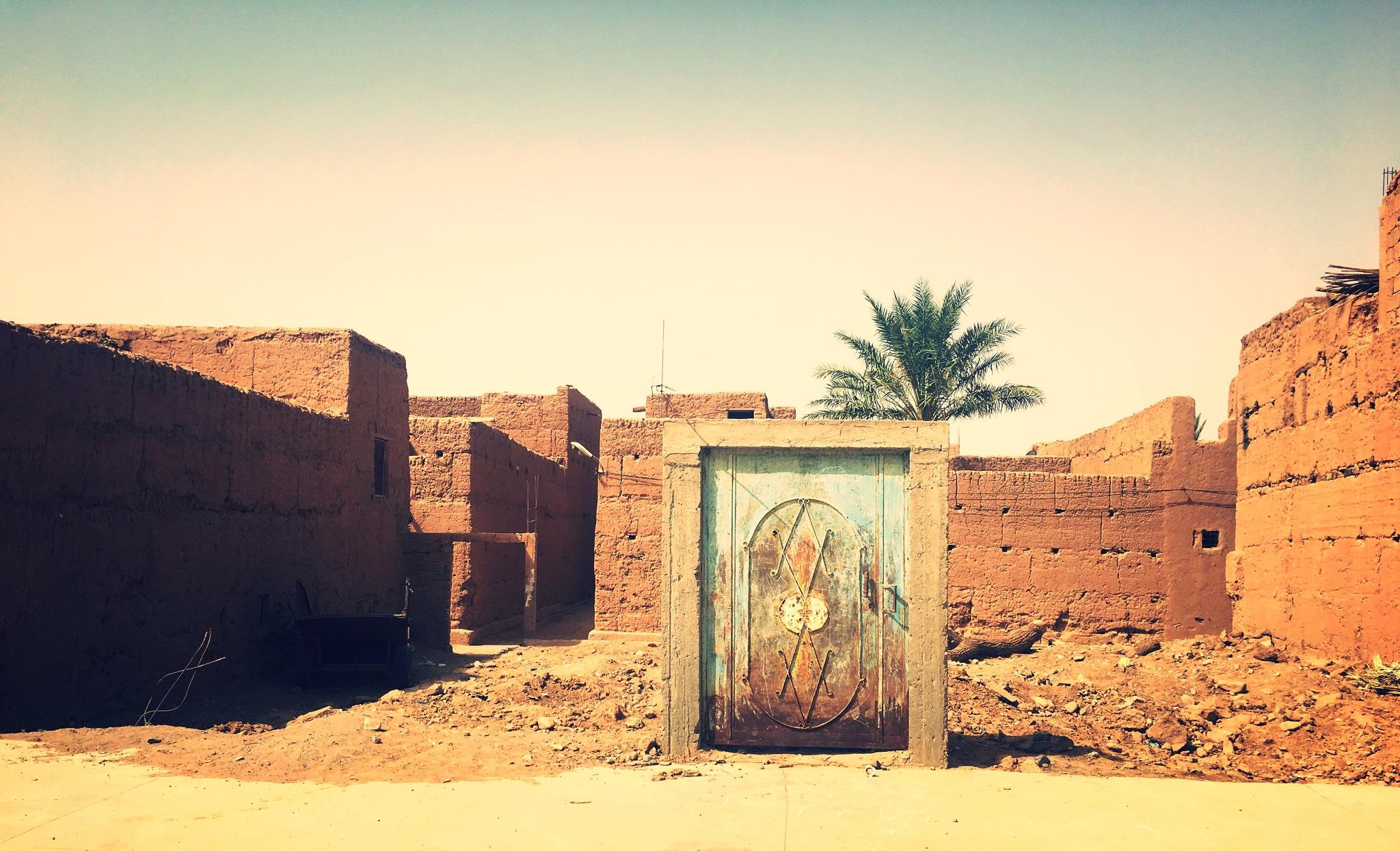Kasbah Zagora Morocco by Rachdel