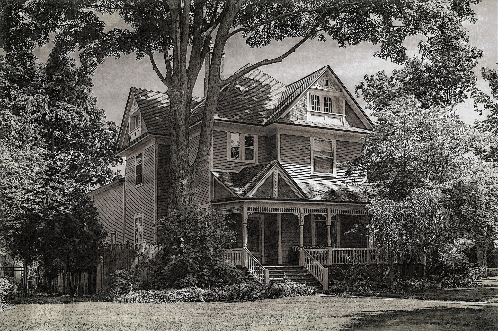 8th Street Victorian by Bob Yankle