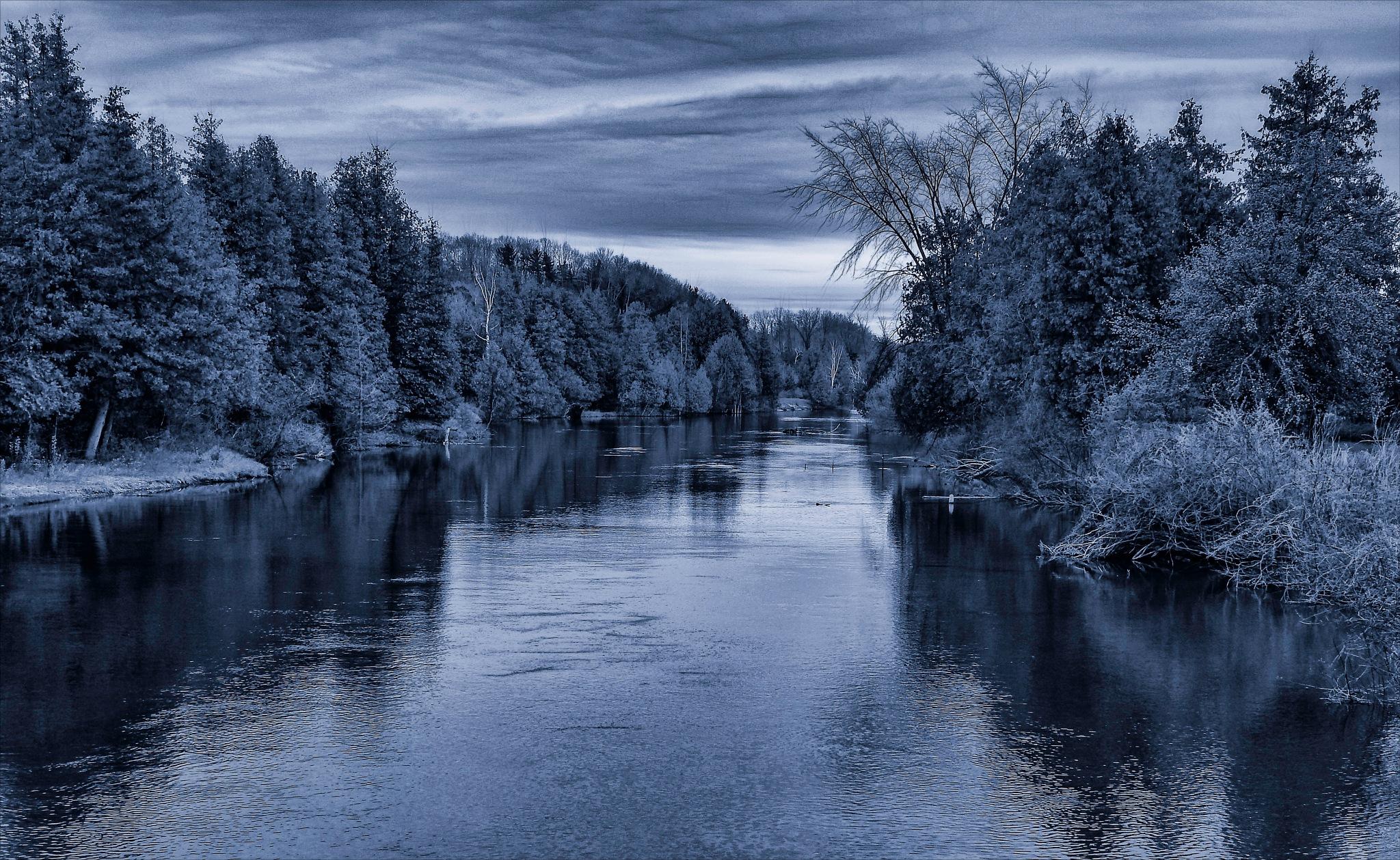 Boardman River, by Bob Yankle